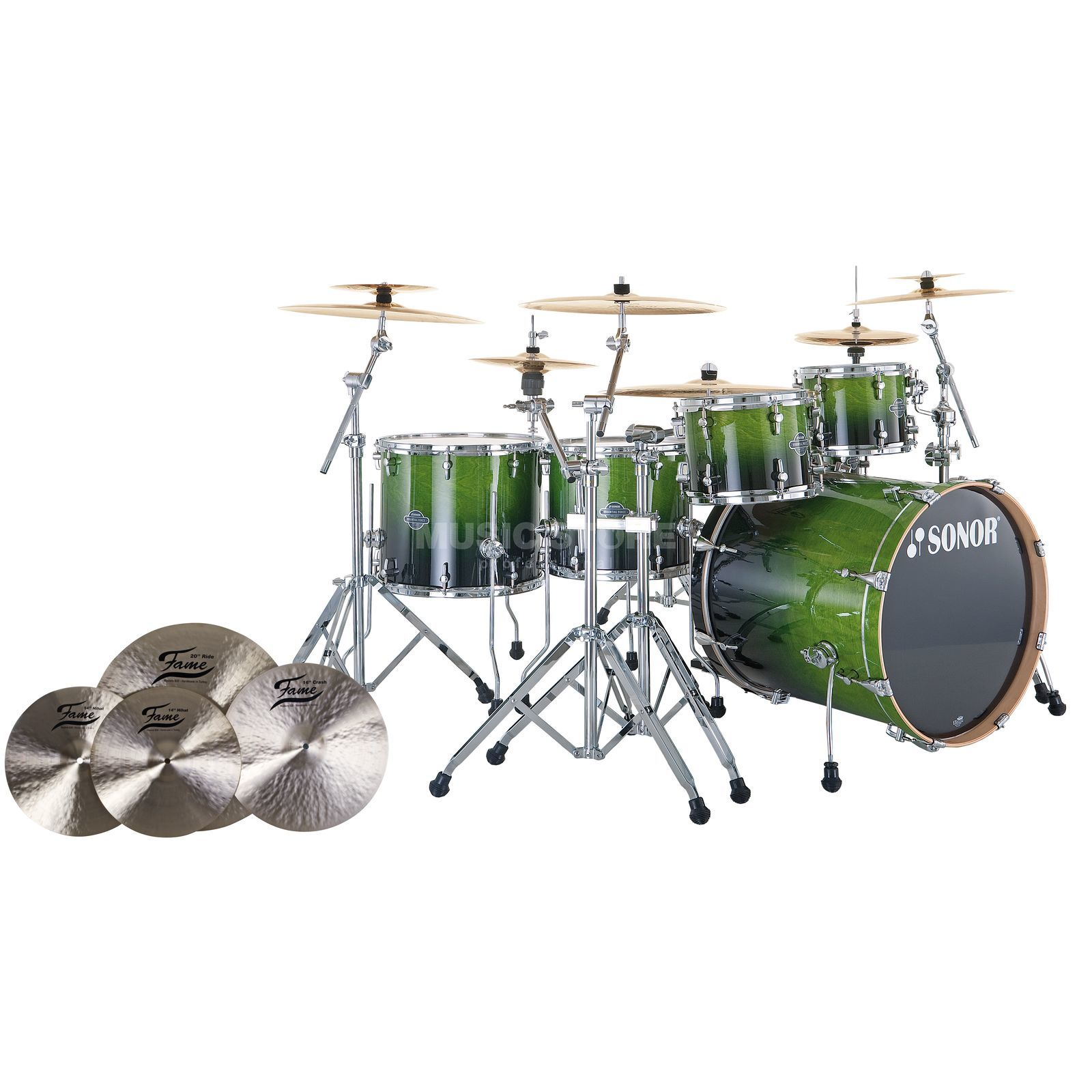 SET SONOR Essential Force S Drive inkl. B20 Cymbals Produktbild