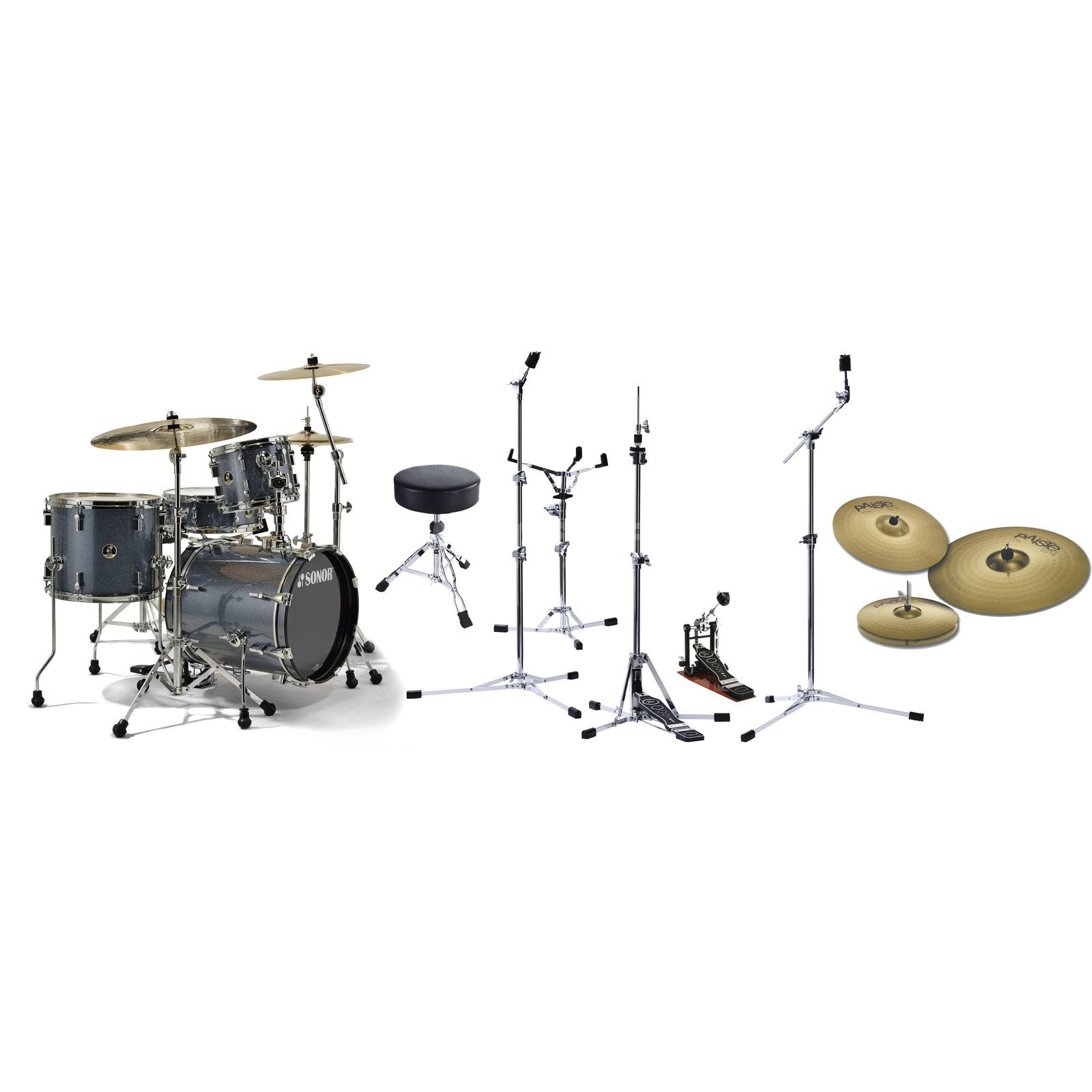 SET Sonor Safari Paiste 101 Super-Bundle Produktbillede