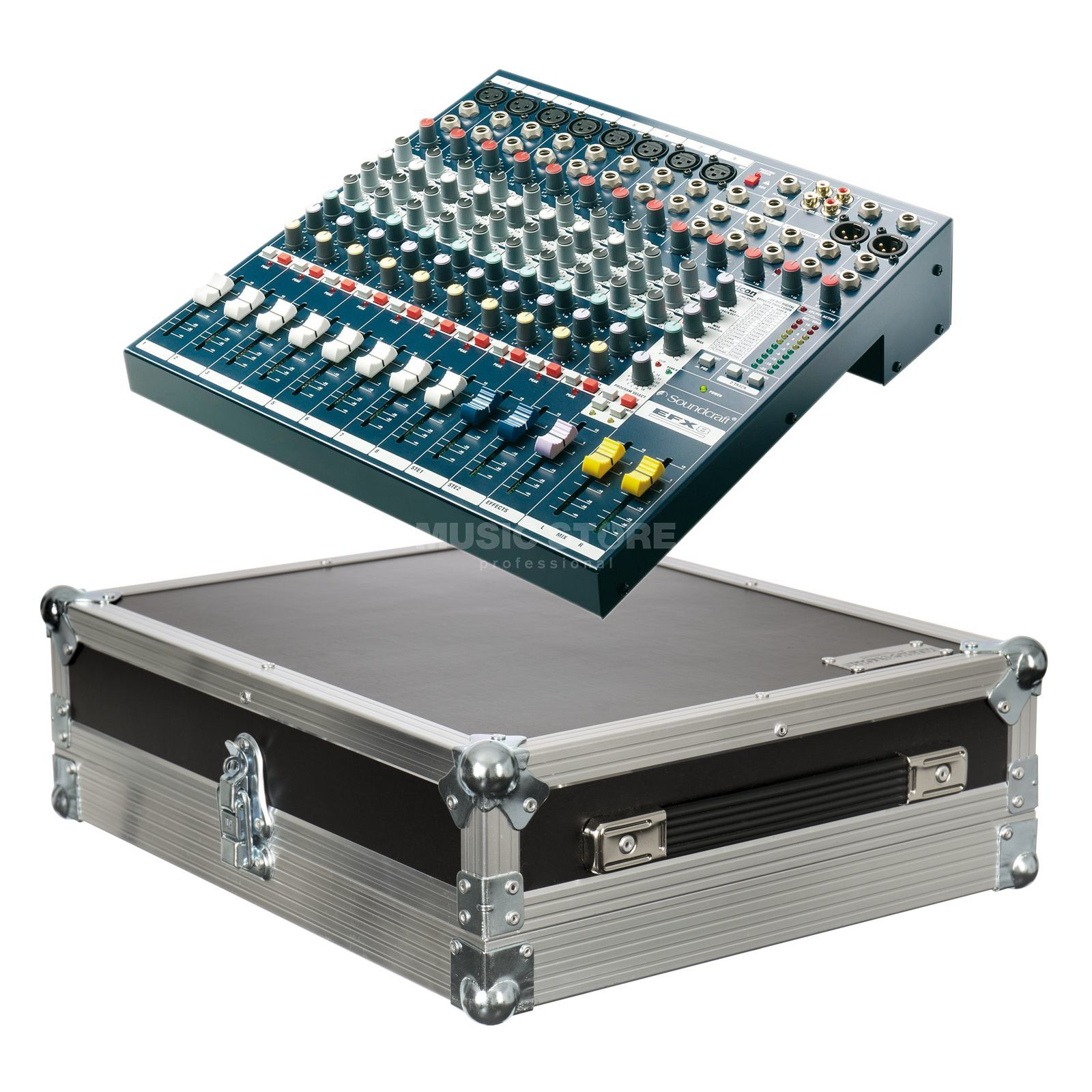 SET Soundcraft EFX 8 inkl. Case Produktbild