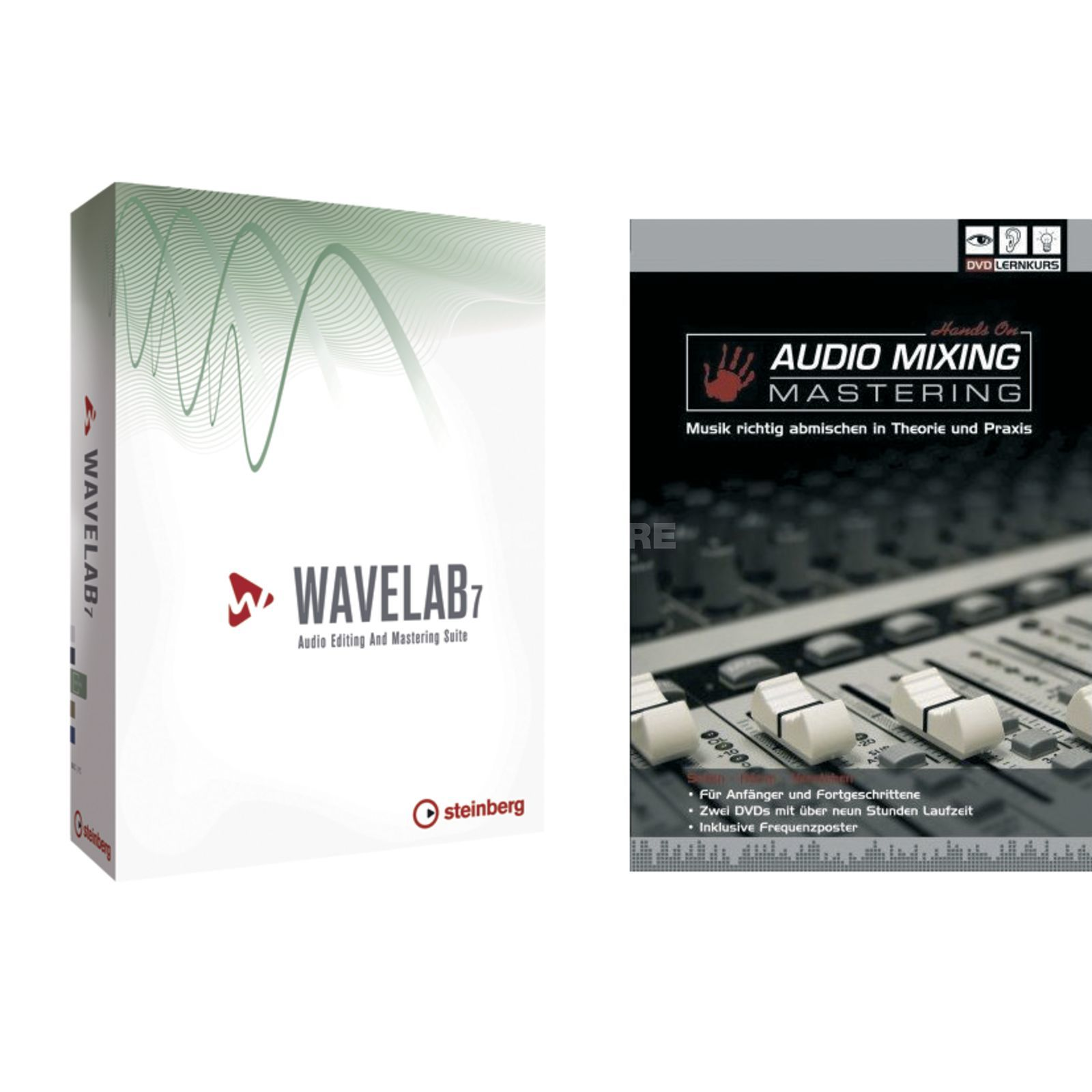 SET Wavelab 9 + Hands on Mixing & Mastering Produktbild
