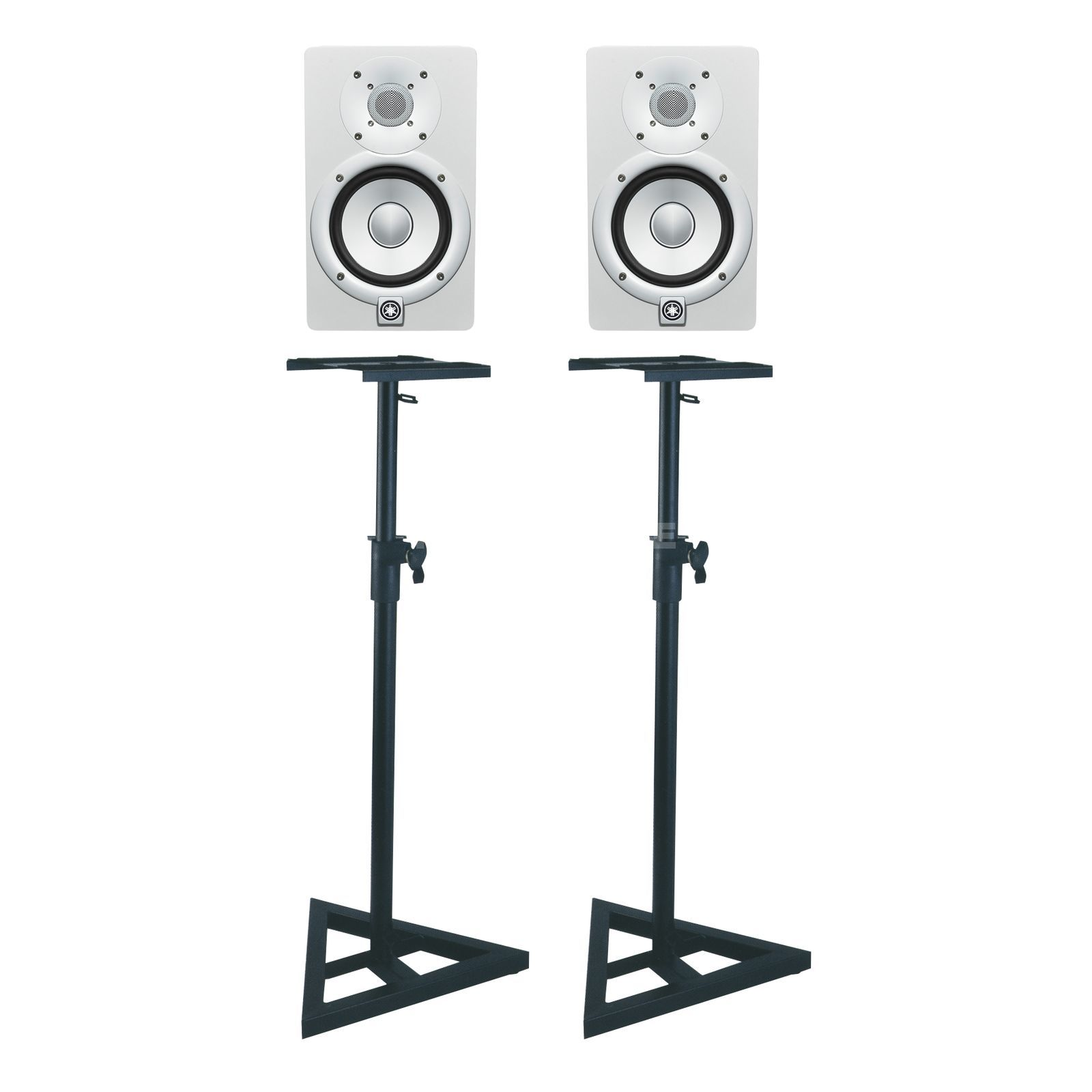 SET Yamaha HS7 white + DB 039 SET Monitor + Stands Produktbild