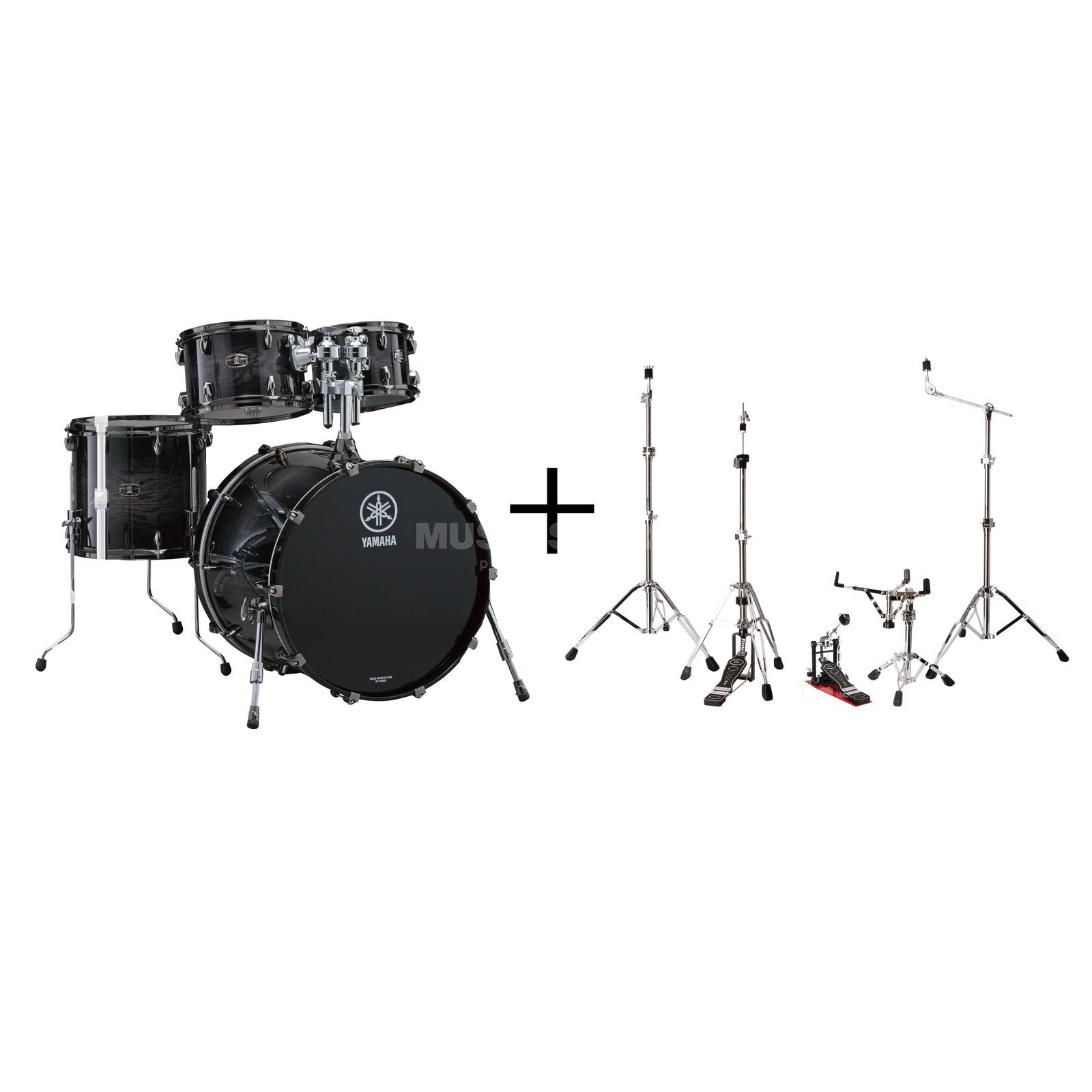 SET YAMAHA Live Custom Set Jazz Bundle #BWS Produktbillede