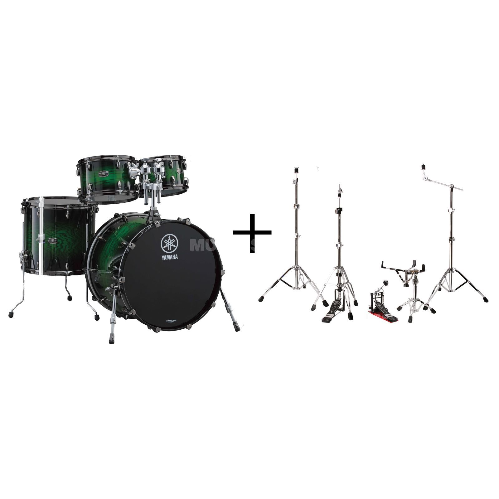 SET YAMAHA Live Custom Set Studio Bundle #EWS Produktbillede