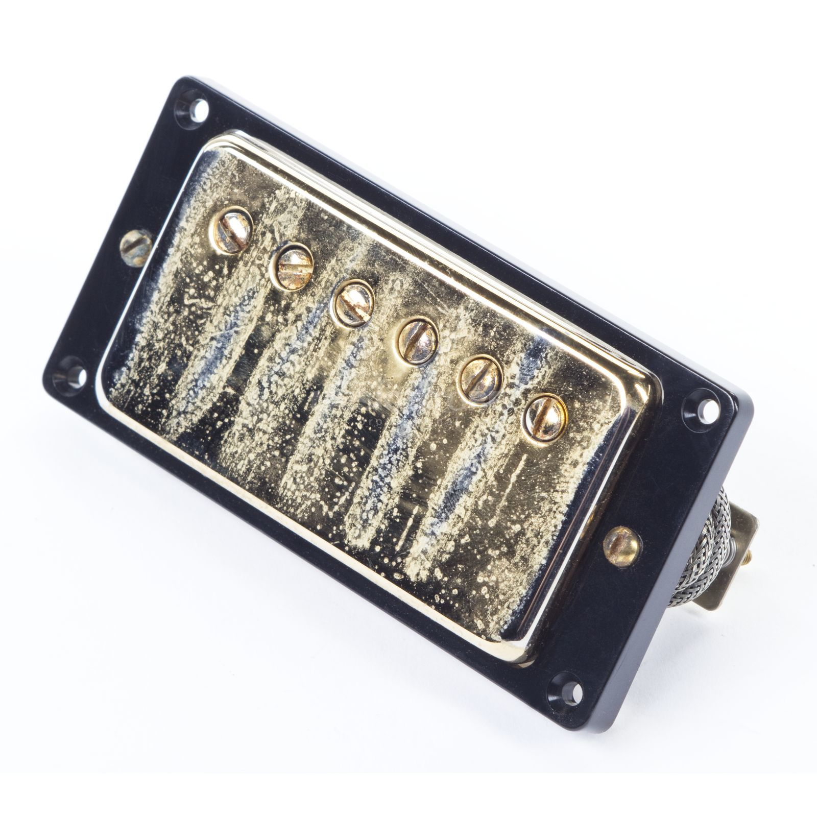 Seymour Duncan Antiquity Humbucker Neck Gold Cover Produktbild