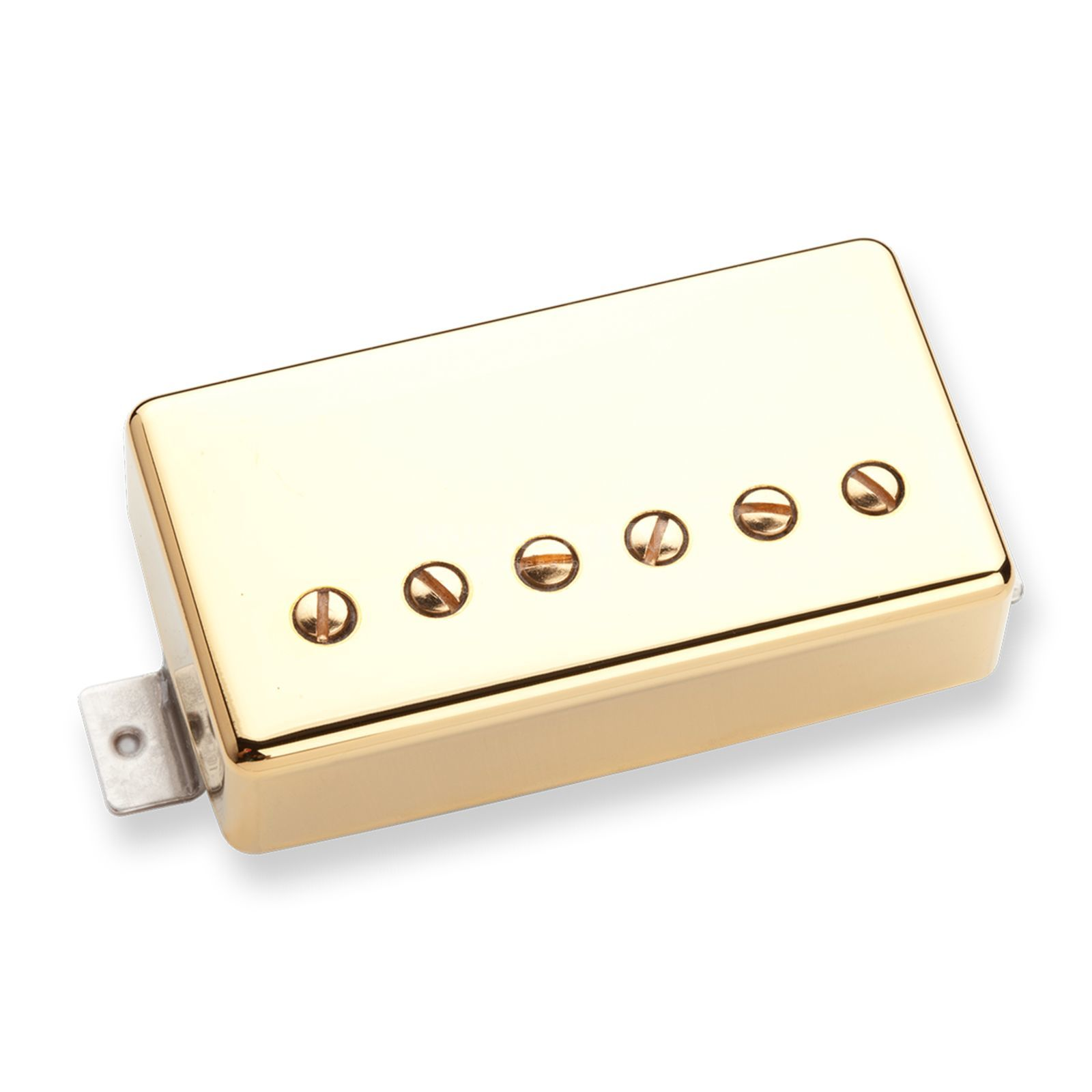 Seymour Duncan Classic Cover Jazz Model Bridge gold 4 - conductor Produktbillede