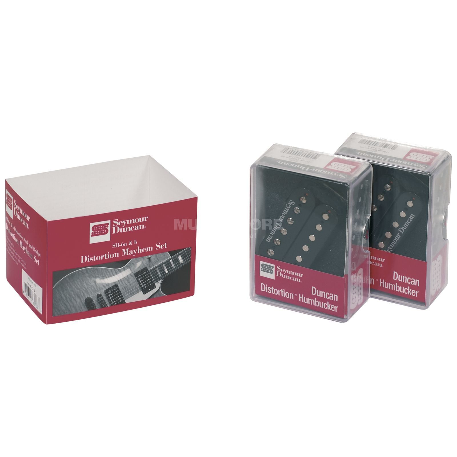 Seymour Duncan SH-6 Distortion Mayhem Set Hals- & Brückenposition Produktbild