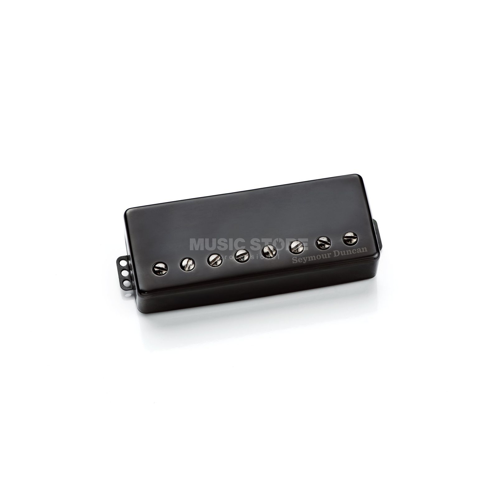 Seymour Duncan SH-6b 8s Distortion 8-String Bridge Passive Mount Black Cover Produktbild