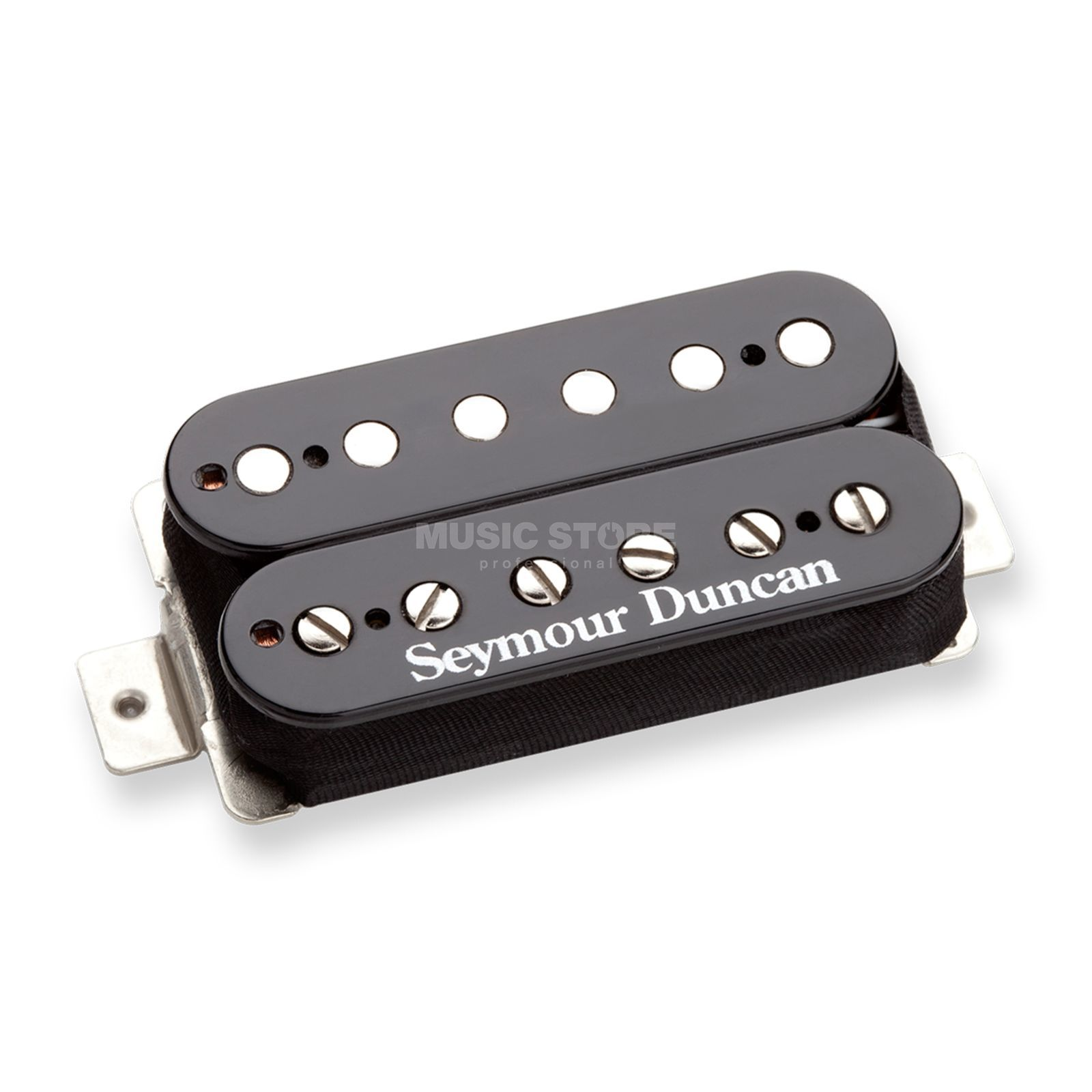 Seymour Duncan SH-PG 1B BLK Pearly Gates Black Bridge Produktbild