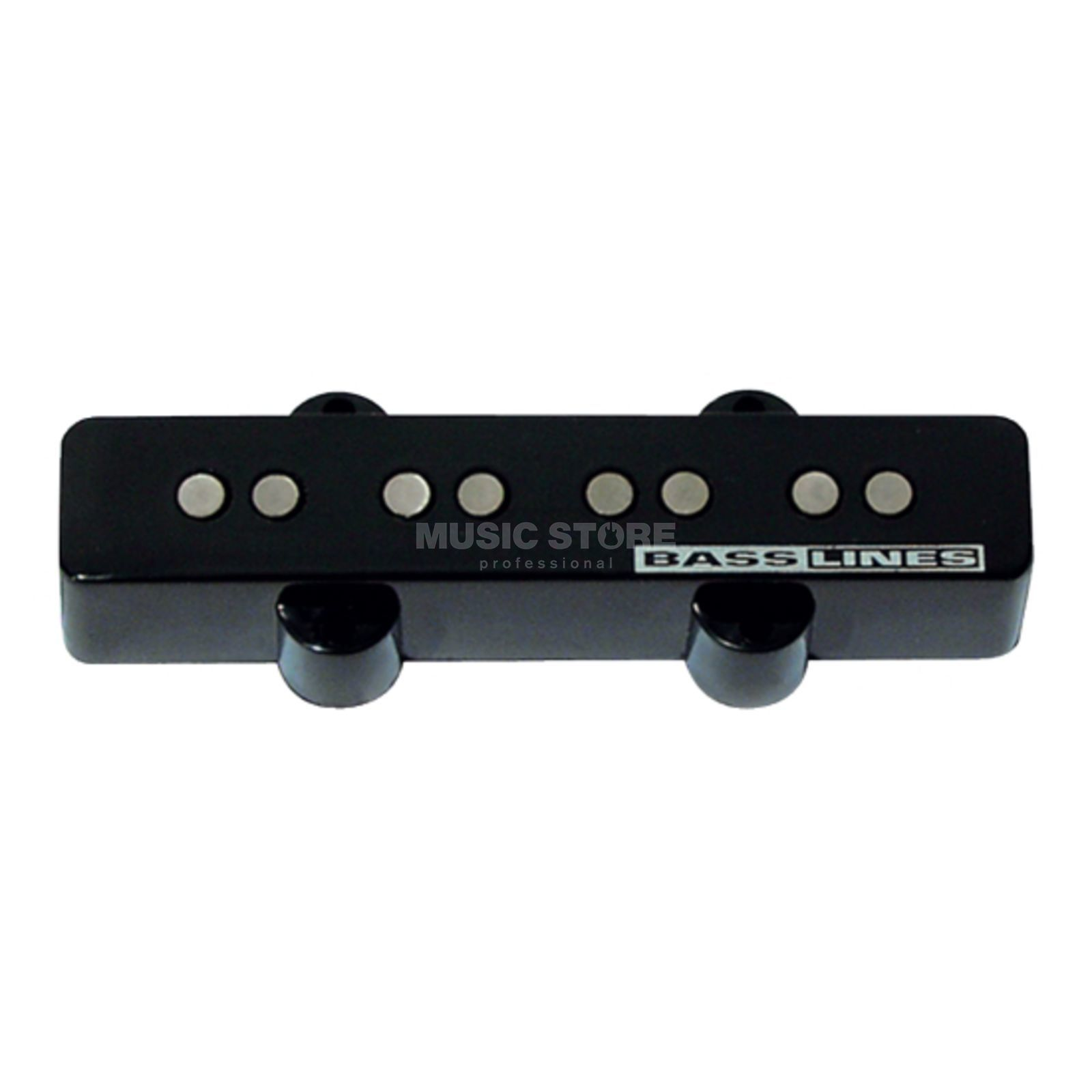 Seymour Duncan SSJB-2B Hot Jazz Bass Bridge Bridge Black 2-phase Produktbillede