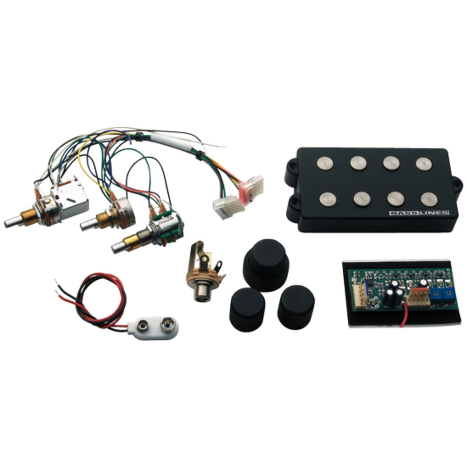Seymour Duncan SSMB-4DS Music Man 4 Set (PU and 3 Band Electronics) Product Image