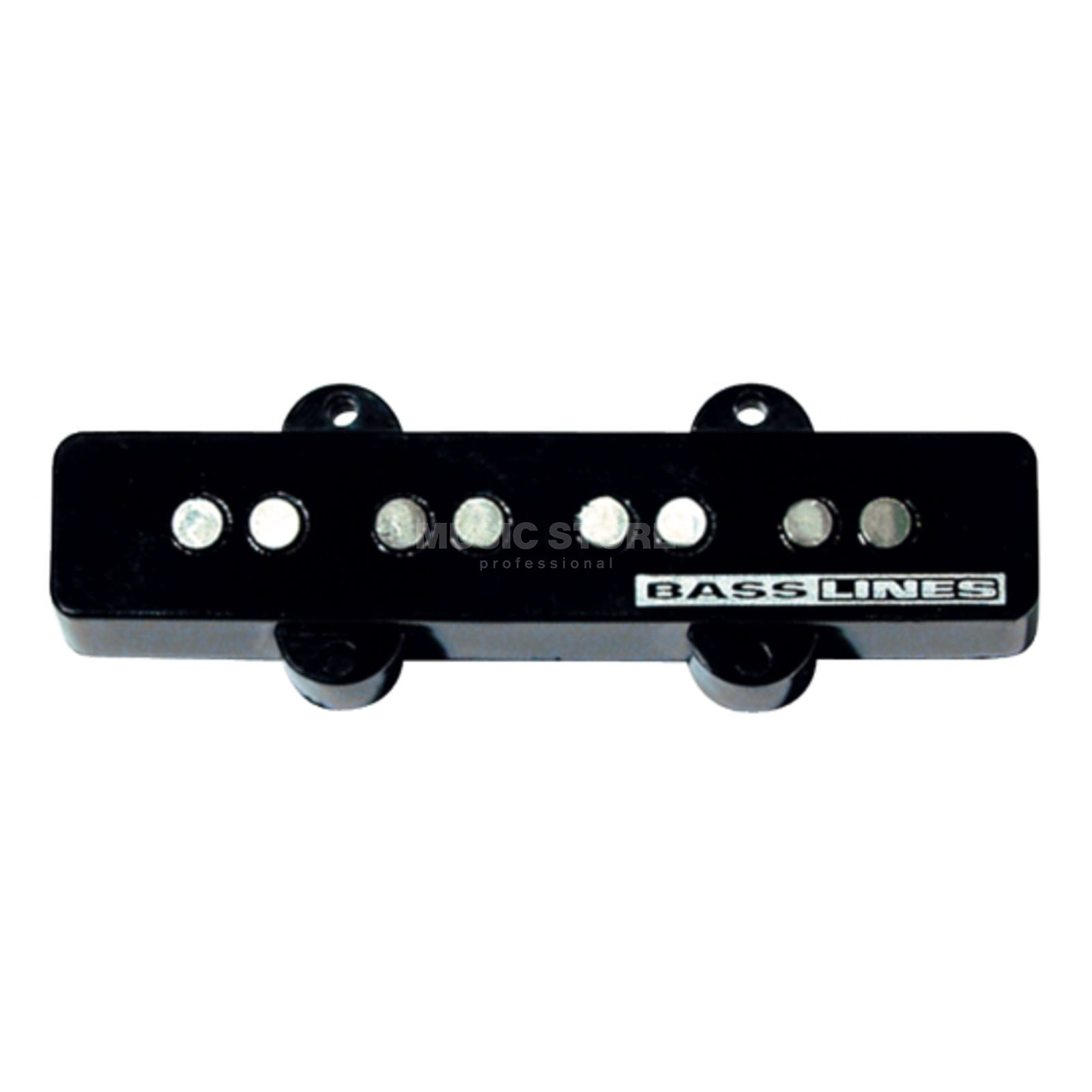 Seymour Duncan SSTK-J2B BLK Hot Jazz Stack Bridge Black 4-phase Zdjęcie produktu