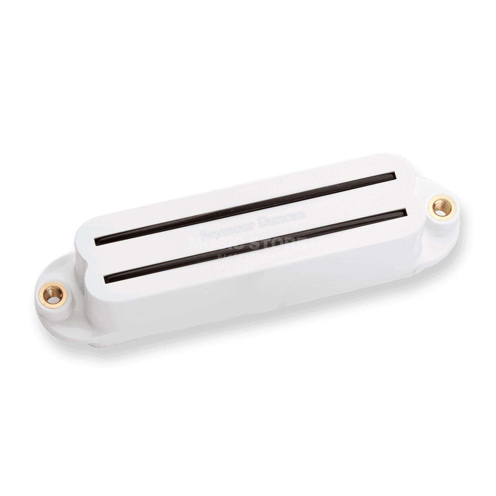 Seymour Duncan Strat Hot Rail Bridge white 4-phase Product Image