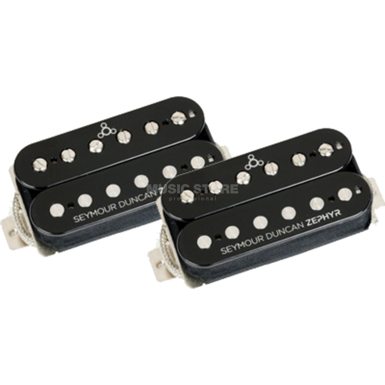 Seymour Duncan Zephyr Humbucker Set Neck & Bridge Black / Black Produktbillede