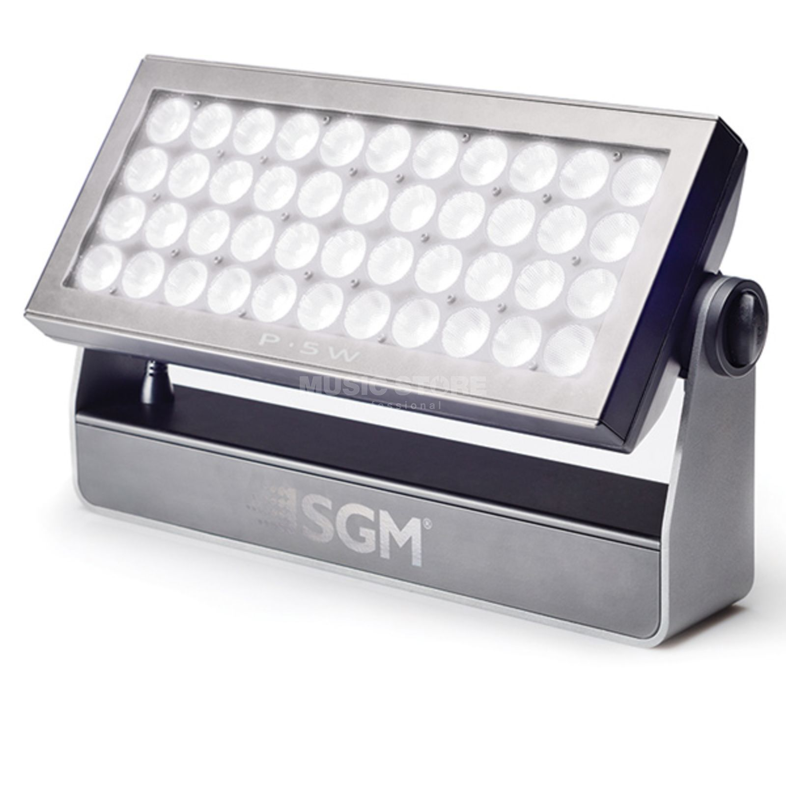SGM P5 W Wash Light White 43° Optic:43°, 44xW 10W LEDs 6000K Produktbillede