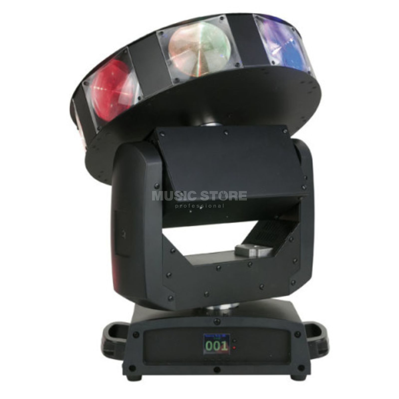 Showtec Astro 360 XL endless Pan/Tilt/Dish, 5° Beam Produktbillede