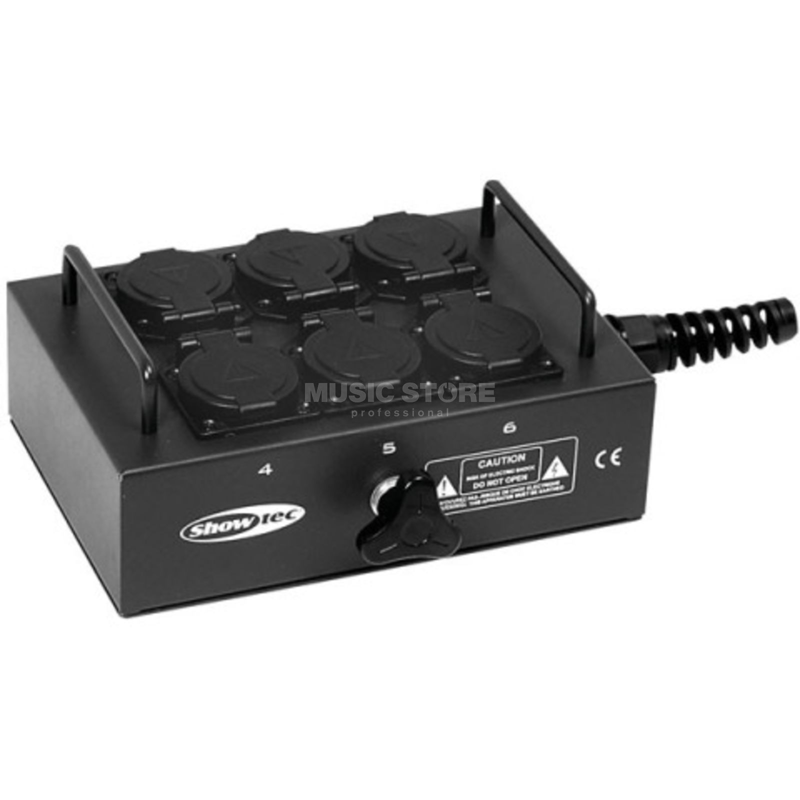 Showtec Breakout Box 6-way BO6PG Produktbillede