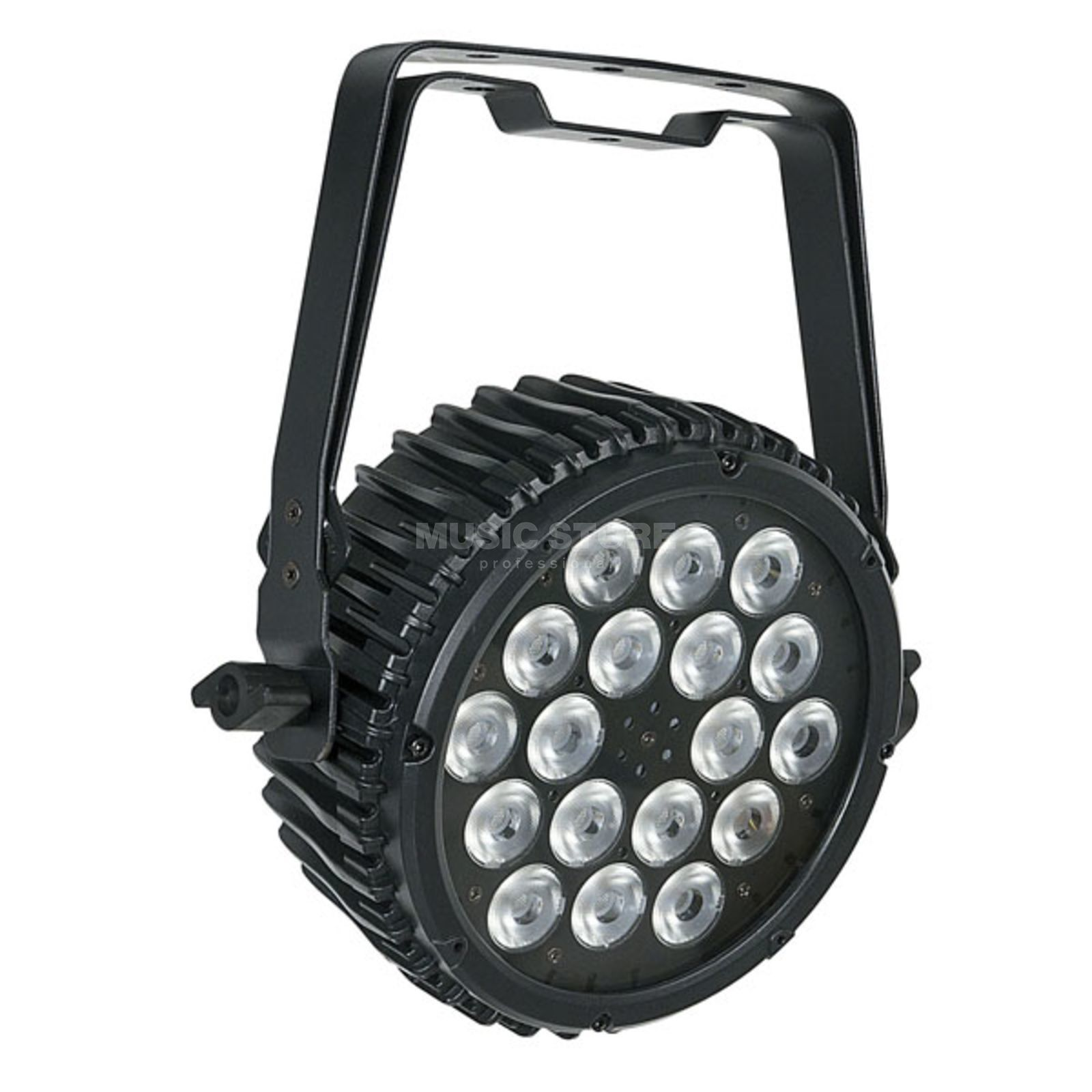 Showtec Compact Par 18 MKII Black 18 x 3W RGB-in-1 LED Produktbild