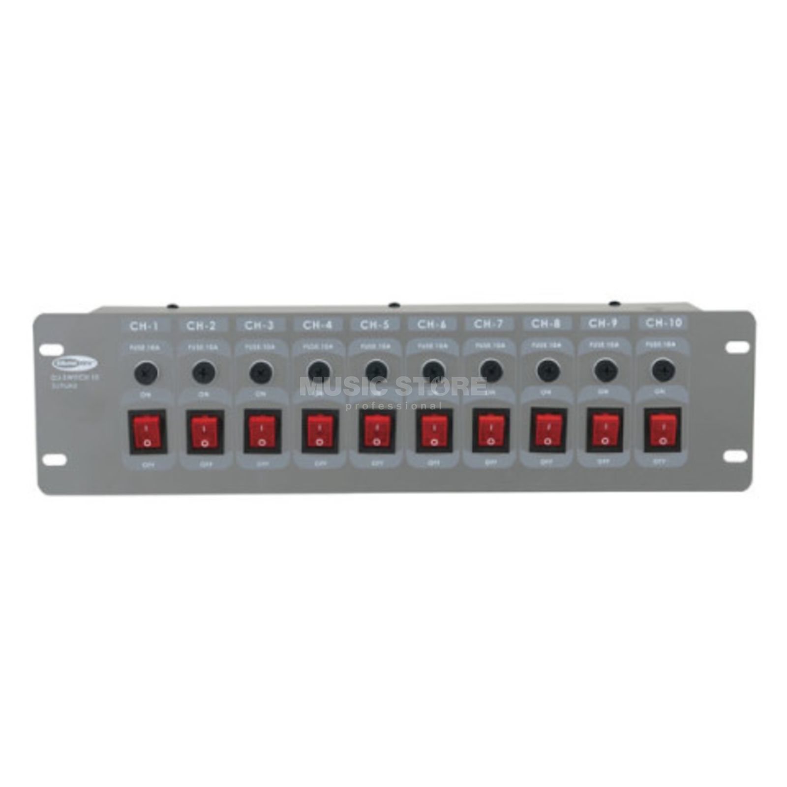 Showtec DJ-Switch 10 10-Channel Schaltkonsole Produktbillede