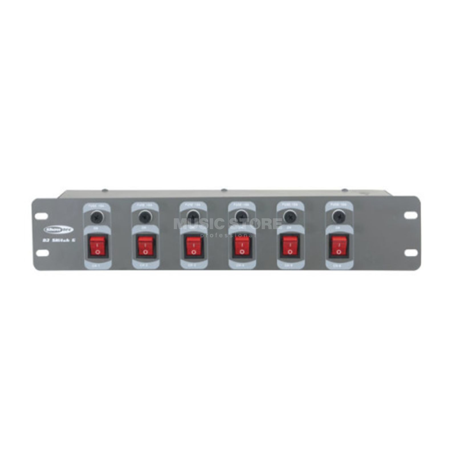 Showtec DJ-Switch 6 6-Channel Schaltkonsole Produktbillede