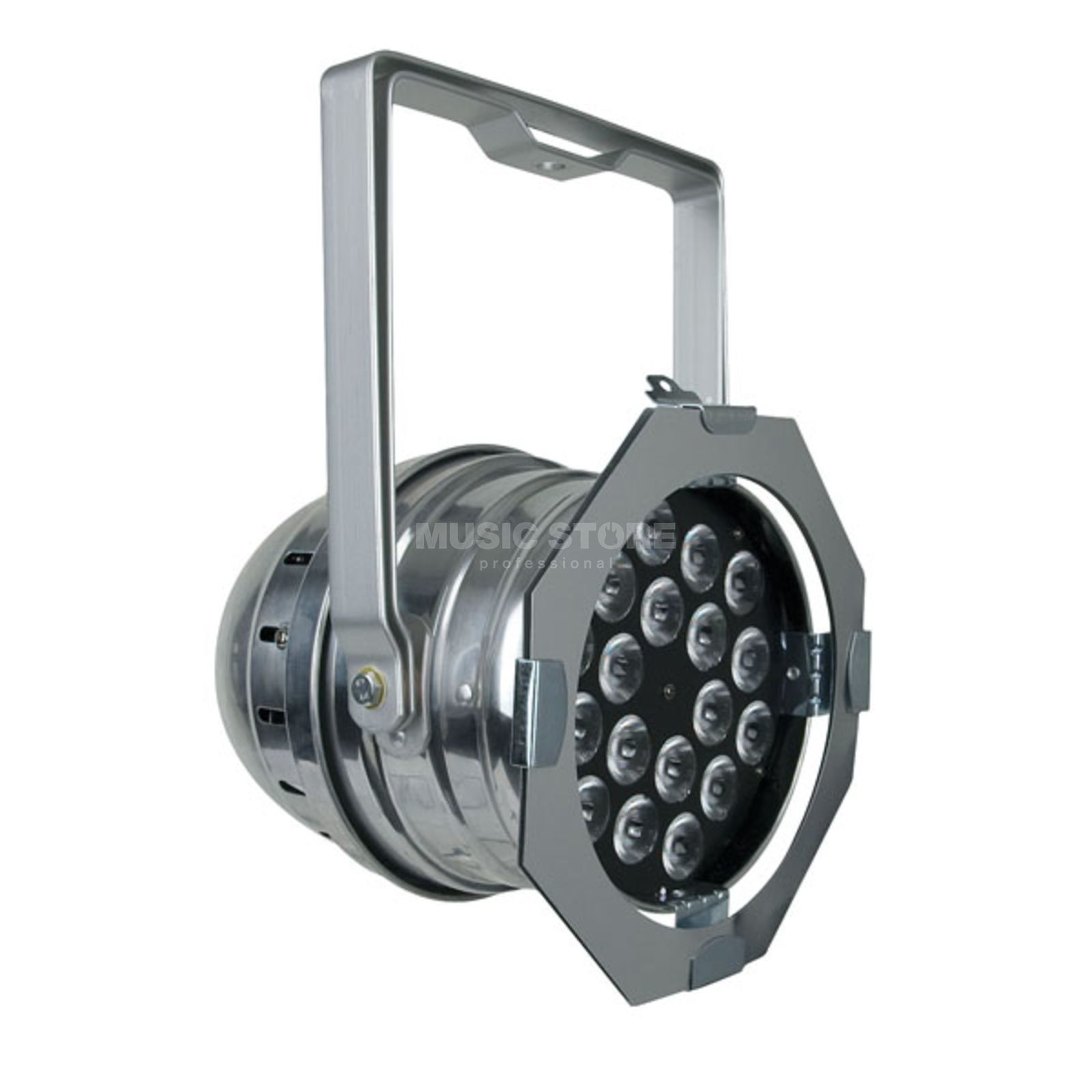 Showtec LED Par 64 Short Polished 18 x RGB 3-in-1 LED Produktbild