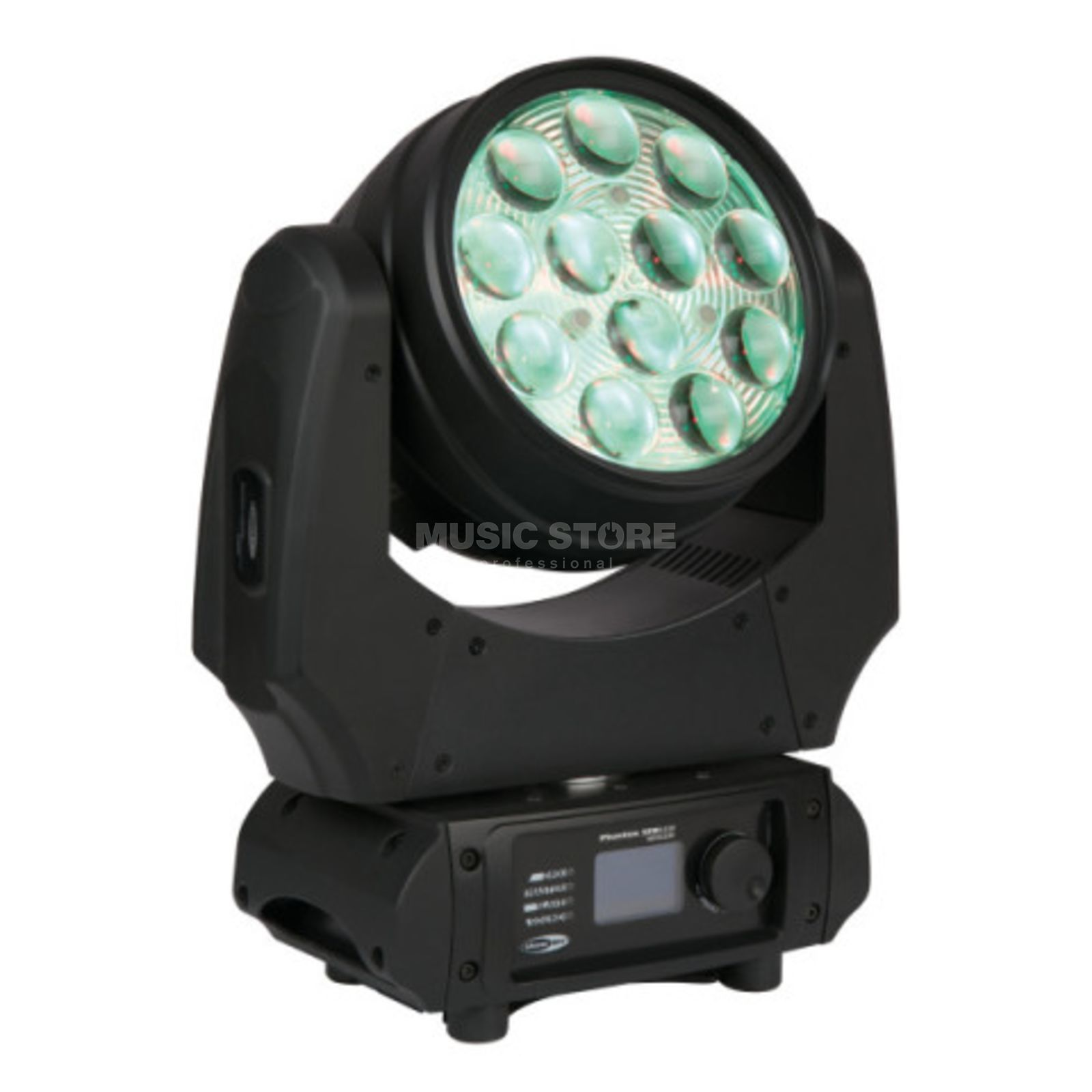 Showtec Phantom 120 LED Wash Zoom, endless Pan/Tilt Product Image