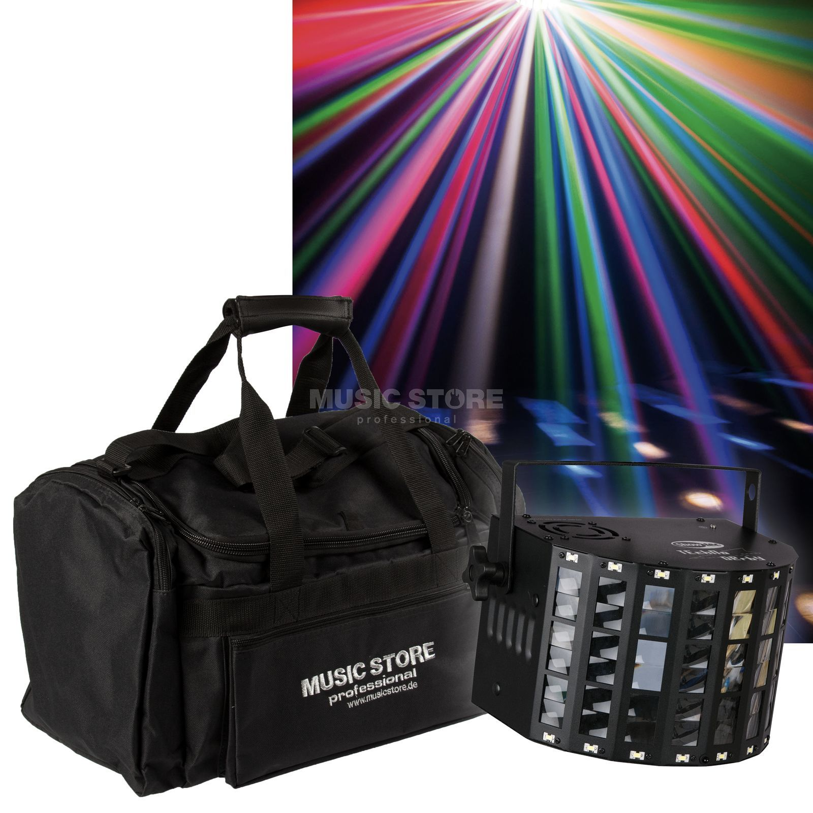 Showtec Techno Derby +  Bag - Set Product Image