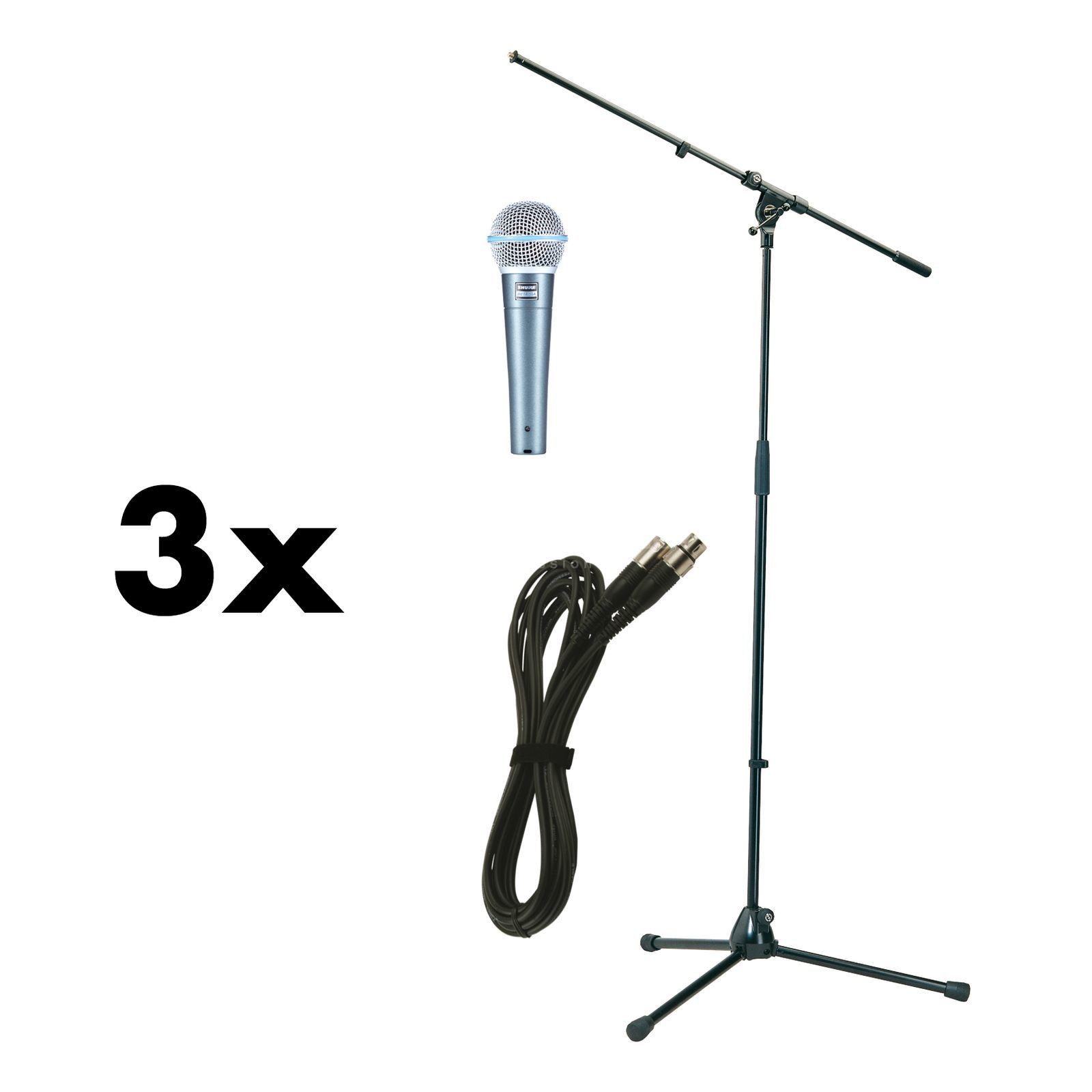 Shure Beta58A Stage package - Set Produktbild