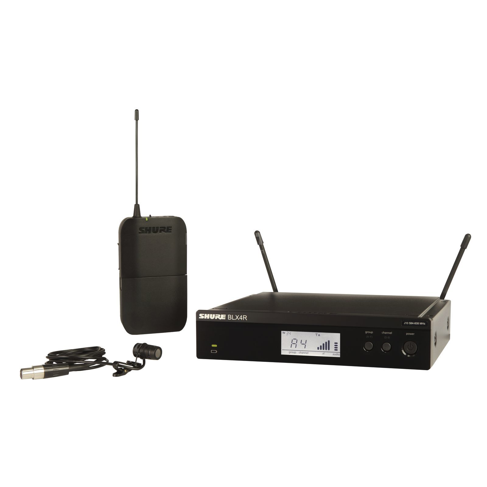 Shure BLX14RE/W85 S8, 823-832MHz Wireless Lavalier System Product Image