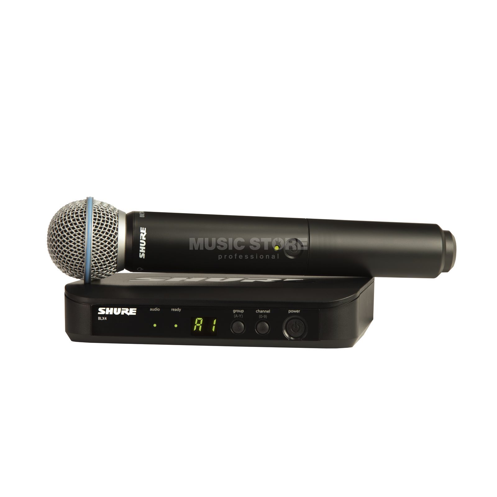Shure BLX24E/B58 T11, 863-865MHz Wireless Handheld System Product Image