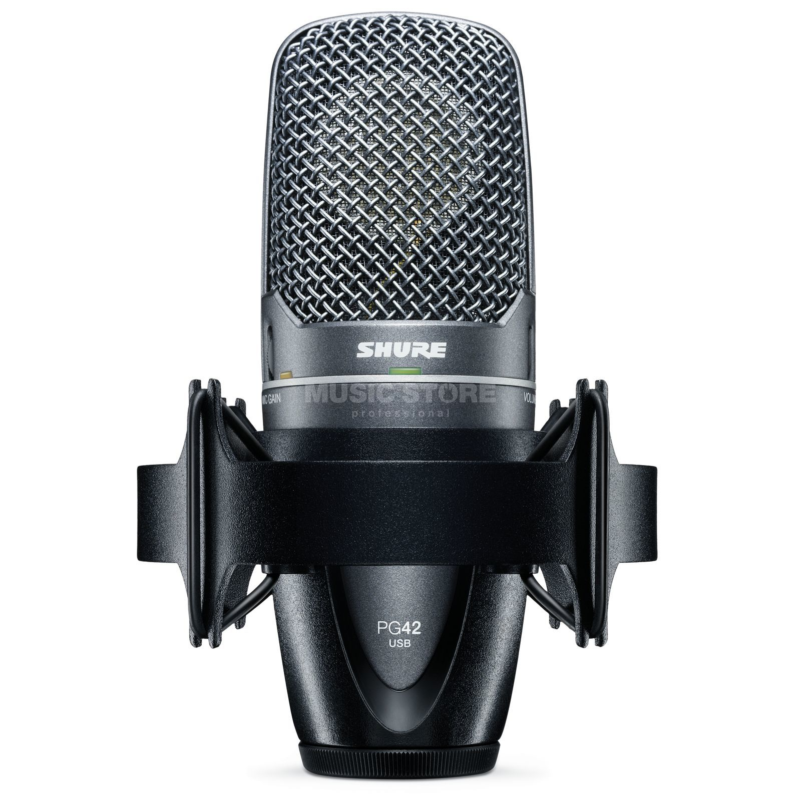 Shure PG42-USB side address microphone, USB Produktbillede