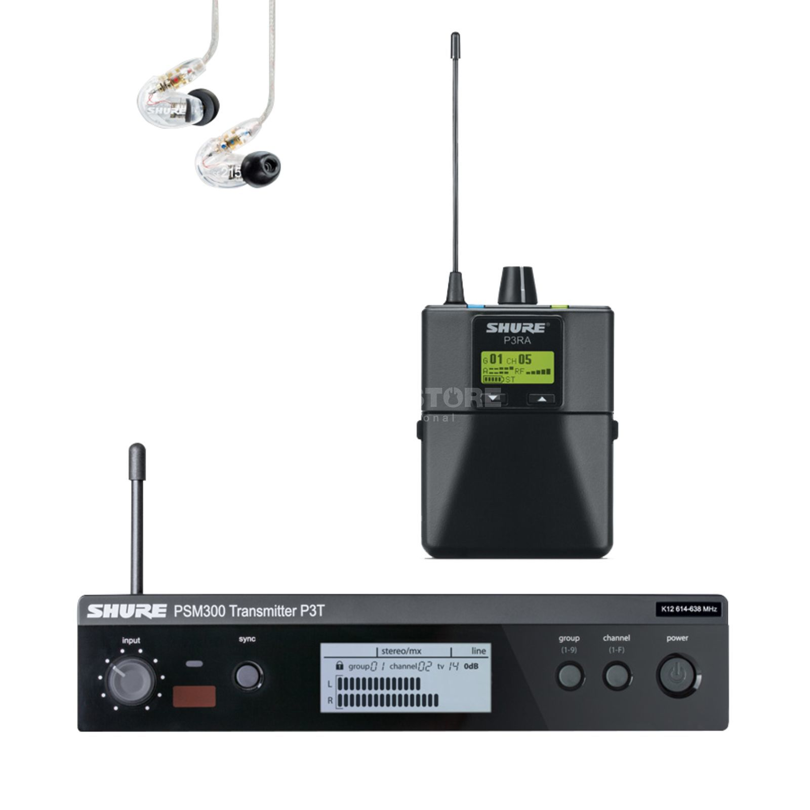 Shure PSM 300 Premium In-Ear System Product Image