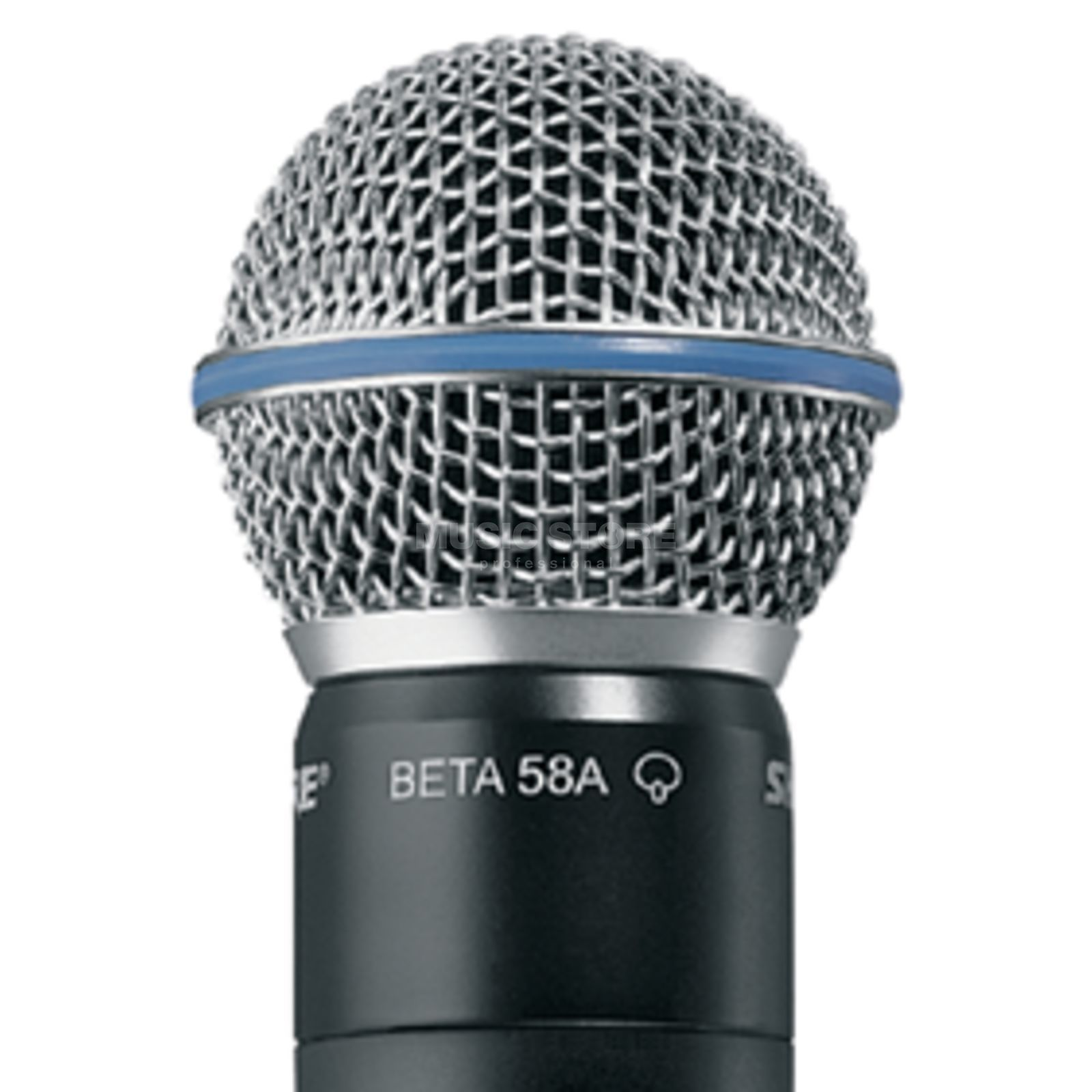 Shure RPW 118, Beta 58A Cartridge, Super cardioid Produktbillede