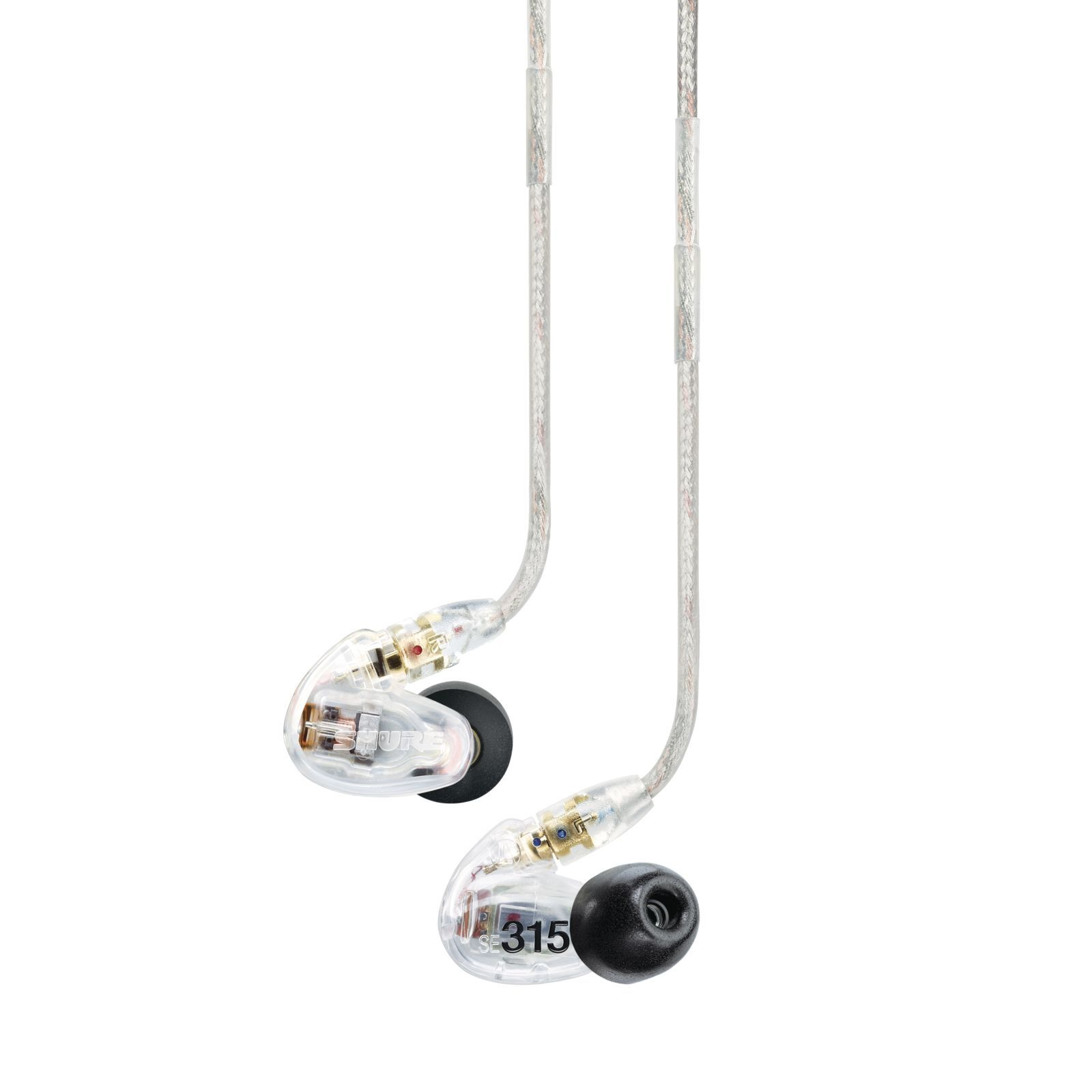 Shure SE 315-CL In-Ear headphone, clear Produktbillede