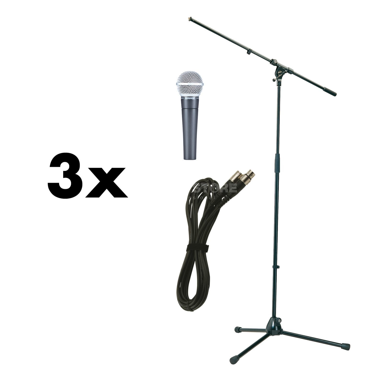 Shure SM 58 Stage package - Set Produktbild