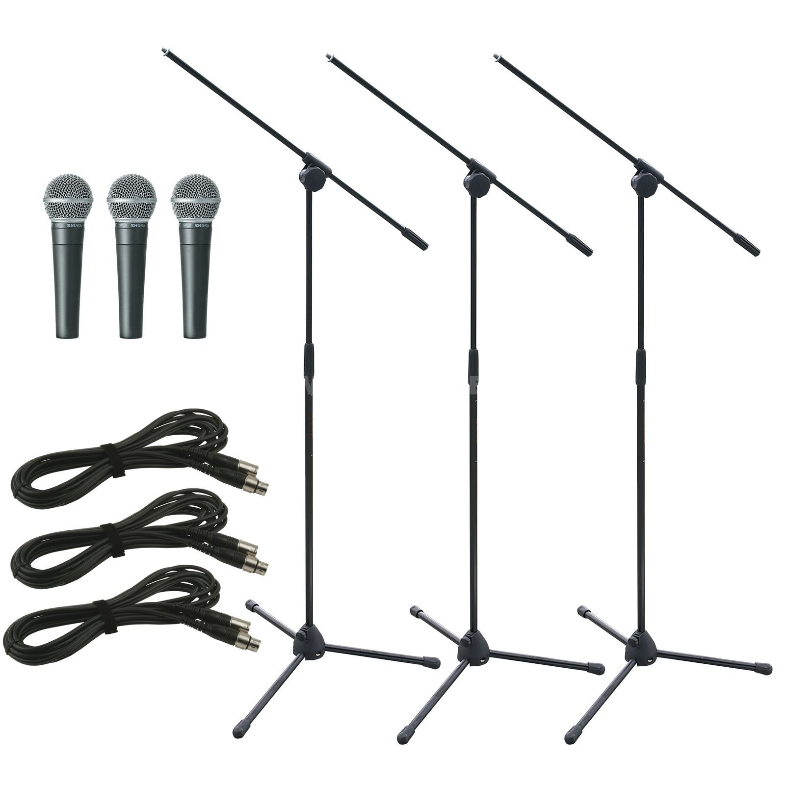 Shure SM58 LCE Stage package - Set Produktbild