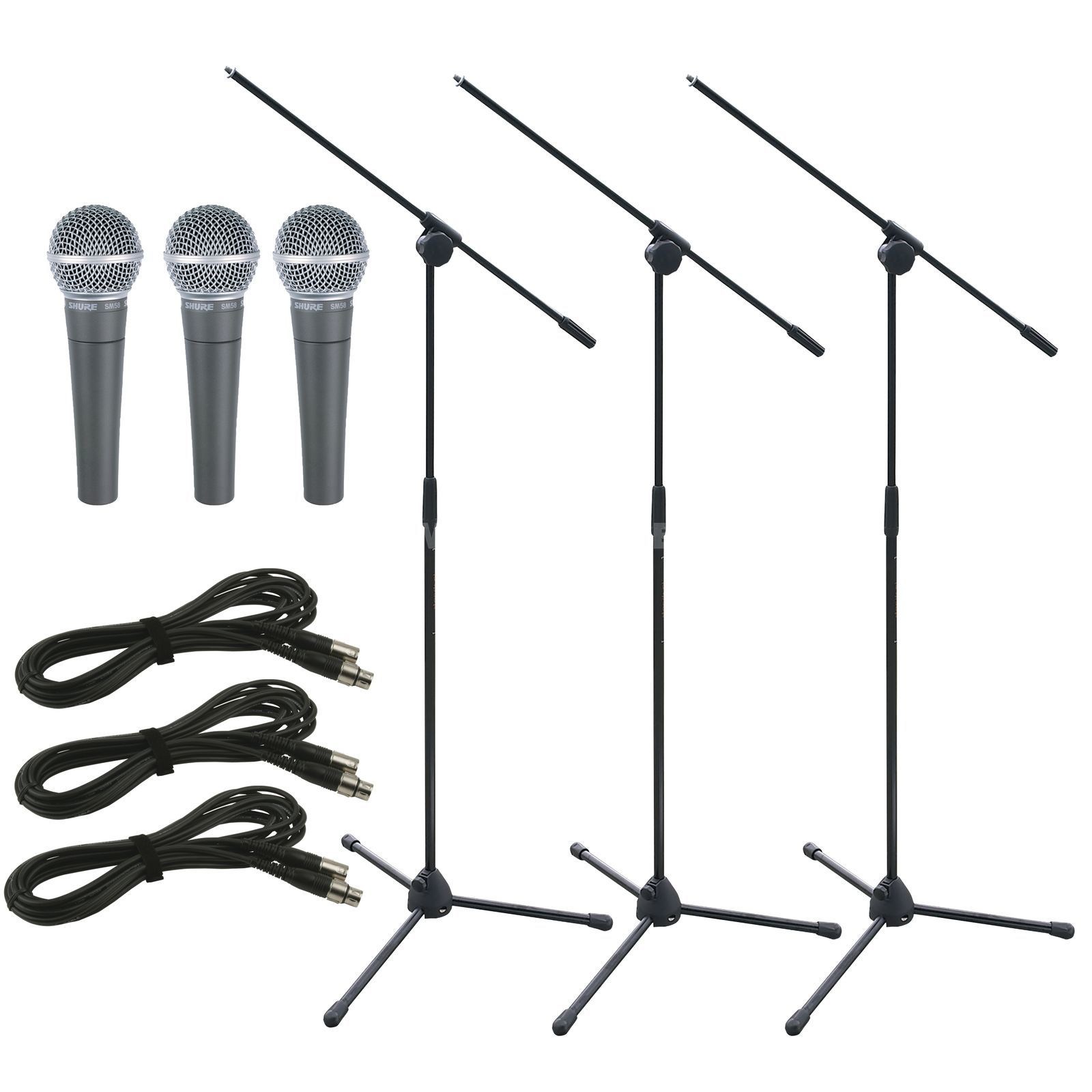 Shure SM58SE Stage package - Set Produktbild