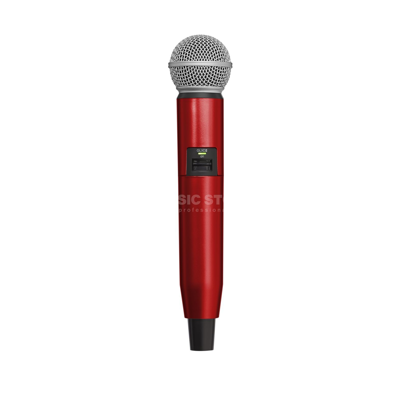 Shure WA723 Colour Housing red for GLXD2/SM58, GLXD2/Beta58A Produktbillede