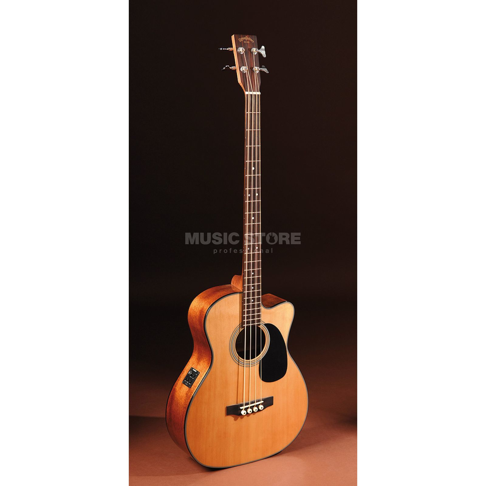 Sigma Guitars BMC-1STE Acoustic bas Natural Productafbeelding