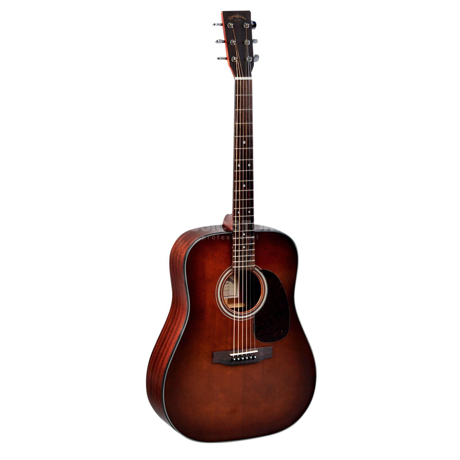 sigma guitars dm1stbr brownburst