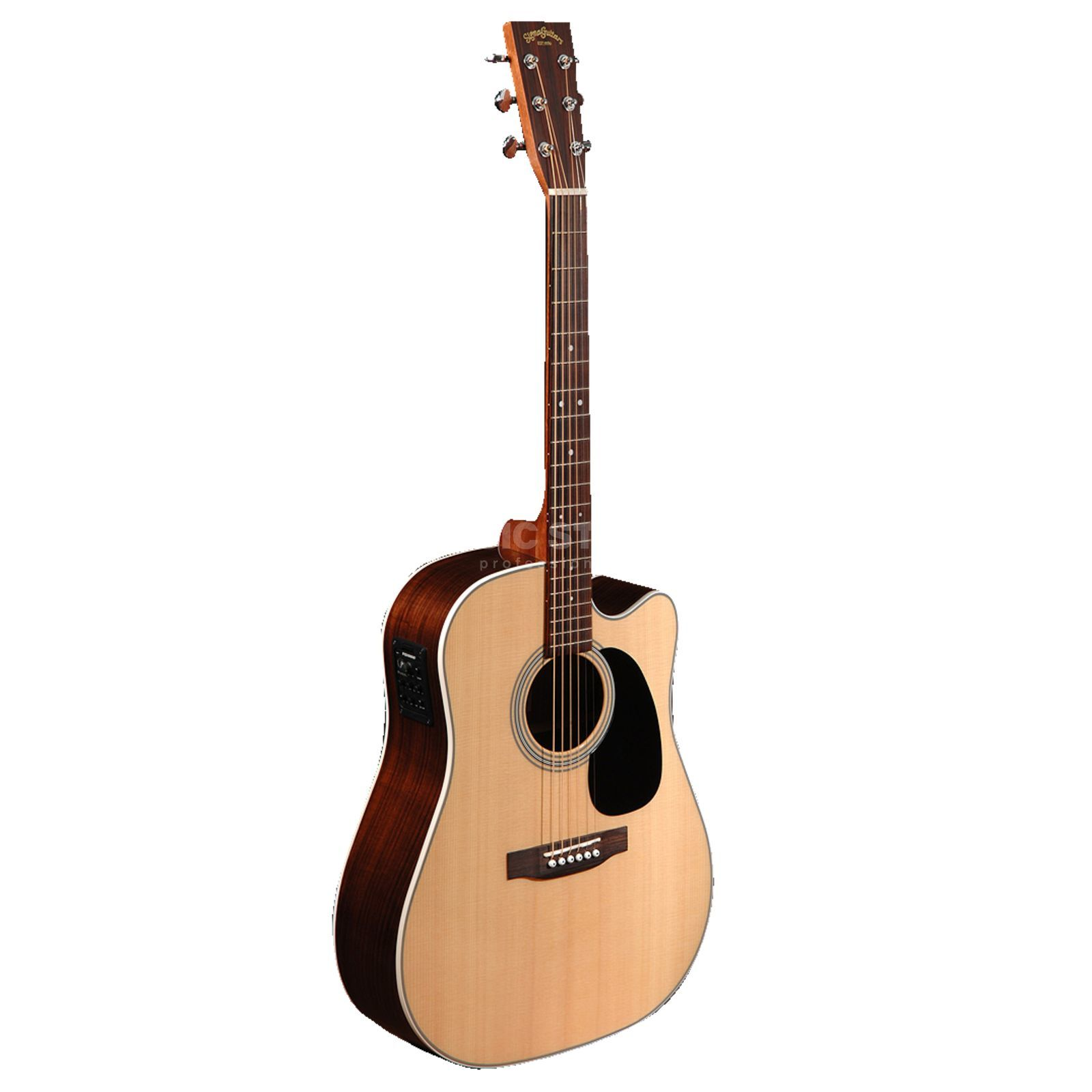 Sigma Guitars DRC-28E Natural Highgloss Produktbild