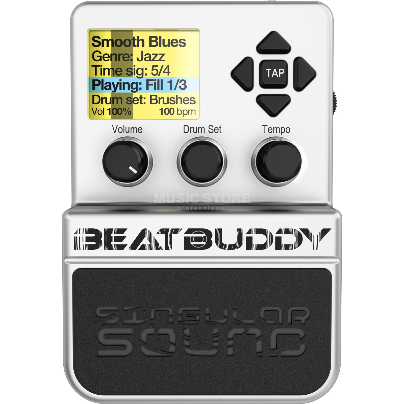 Singular Sound BeatBuddy Hands free Drummachine Produktbild