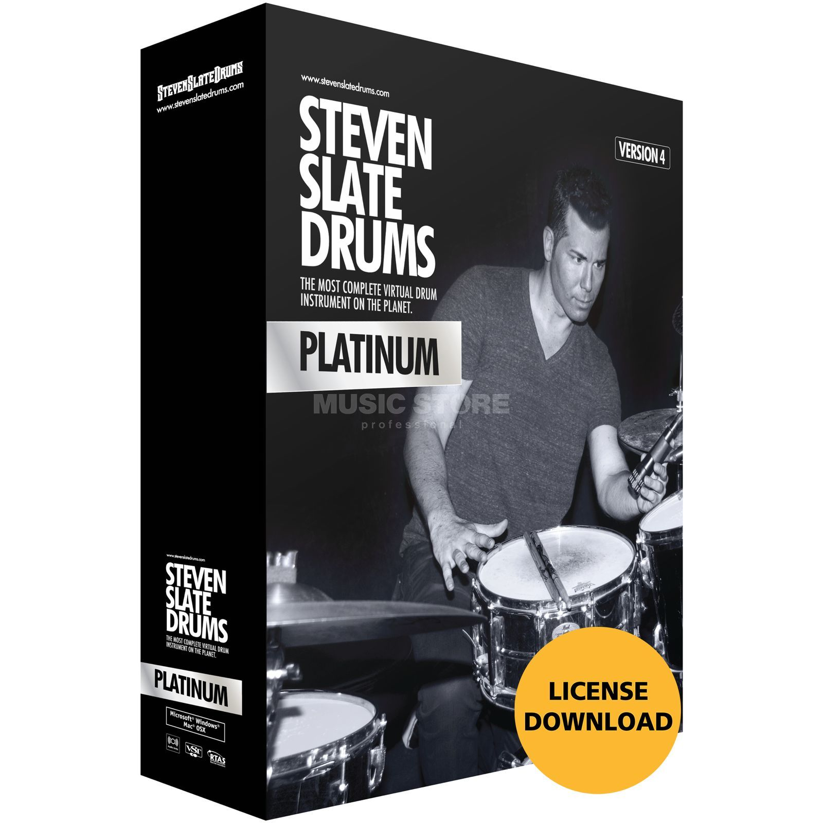 Slate Digital 4.0 Platinum Virtual Drum  Instrument Produktbillede