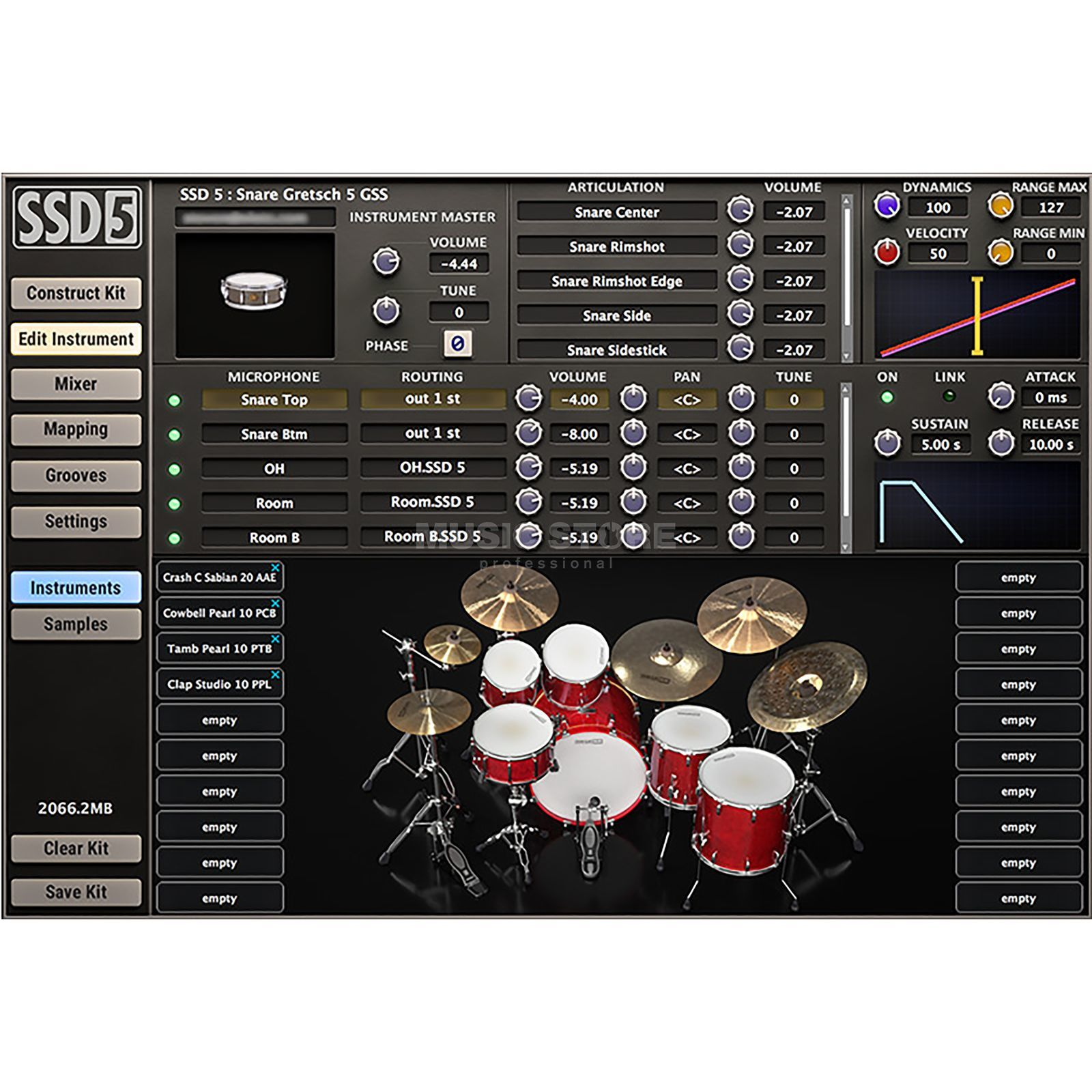 Slate Digital Steven Slate Drums 5 License Code Product Image