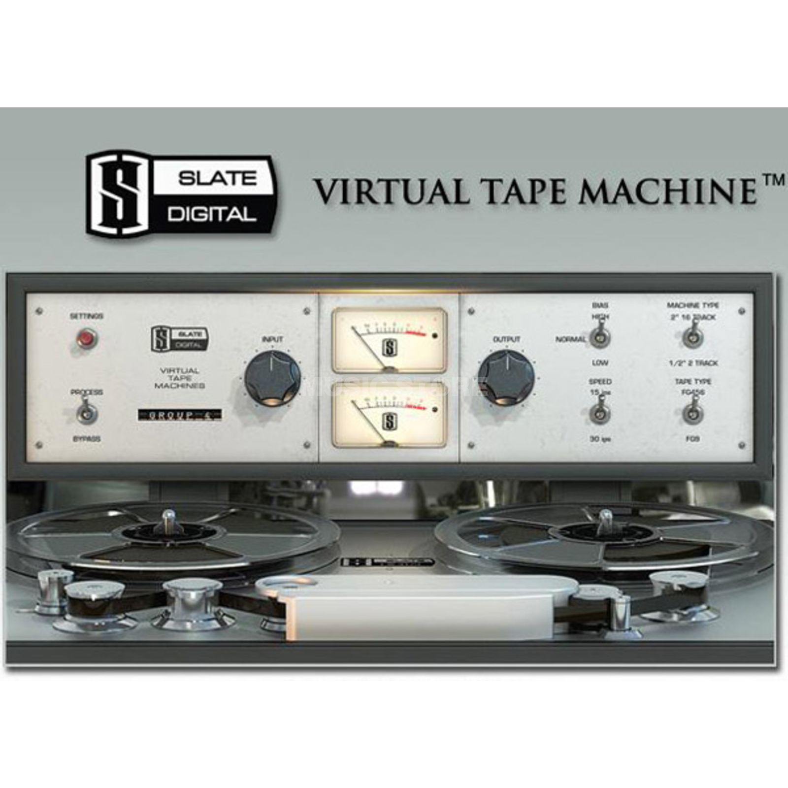 Slate Digital Virtual Tape Machines Analogue Tape Emulation Produktbillede