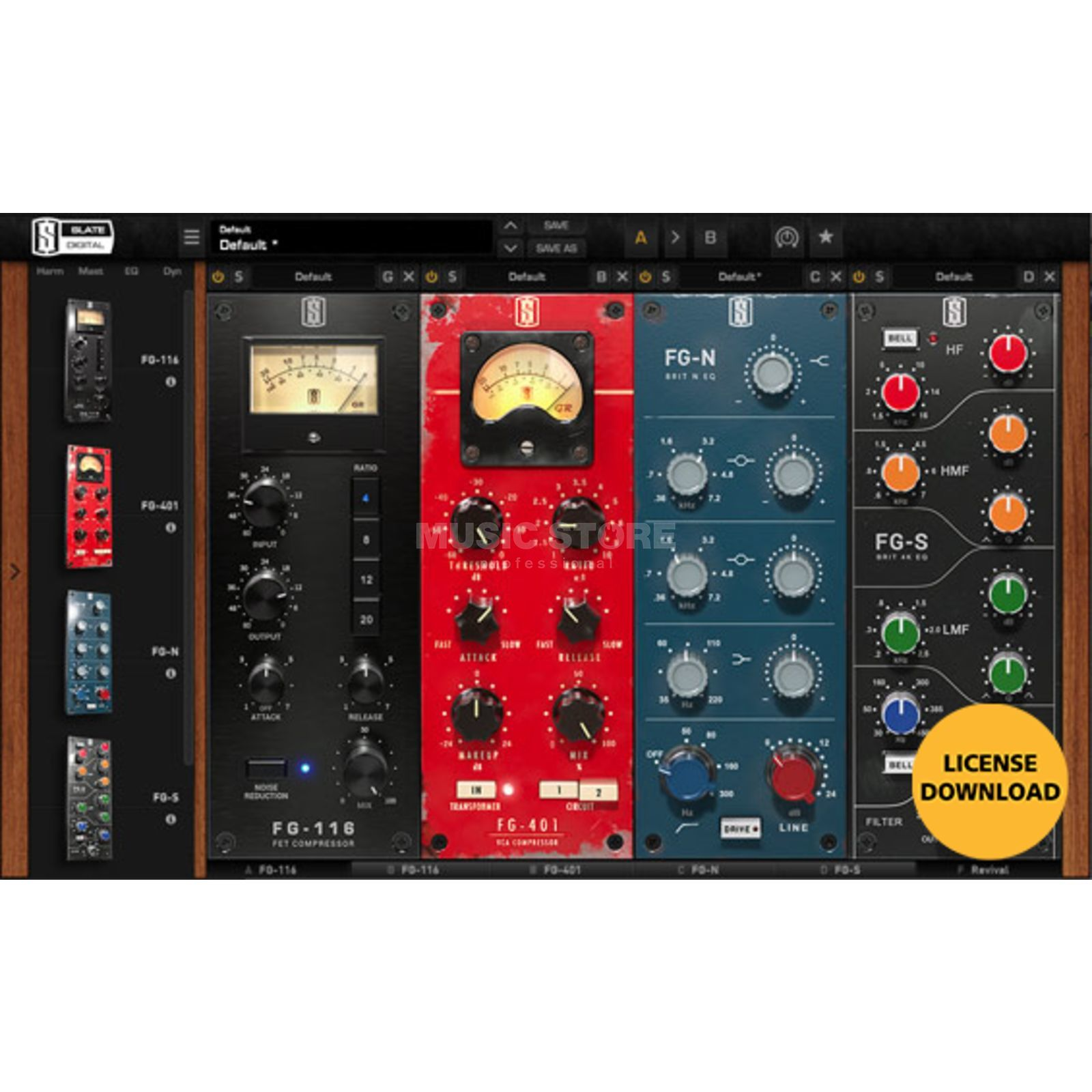 Slate Digital VMR Virtual Mix Rack Produktbild