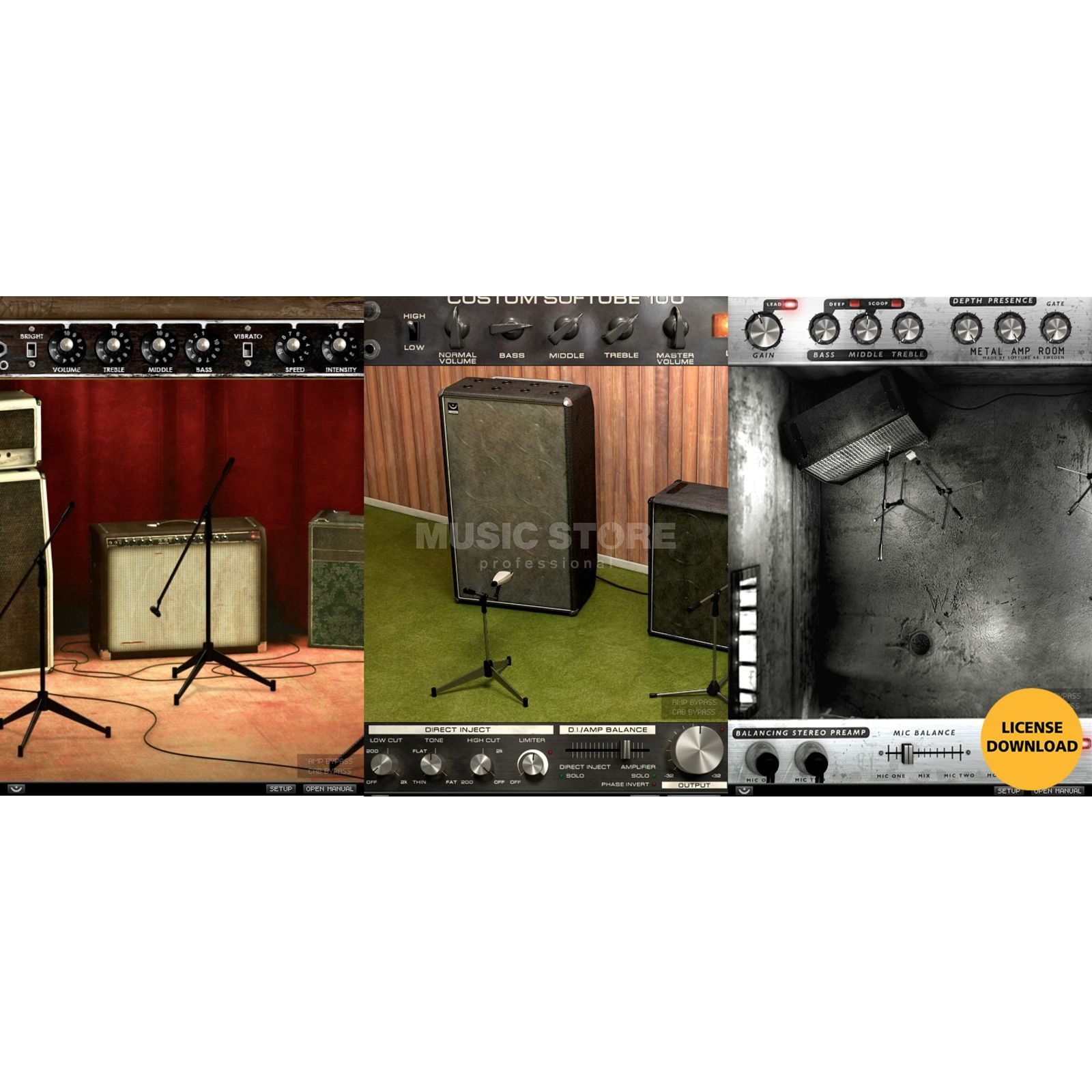 Softube Amp Room Bundle Produktbild