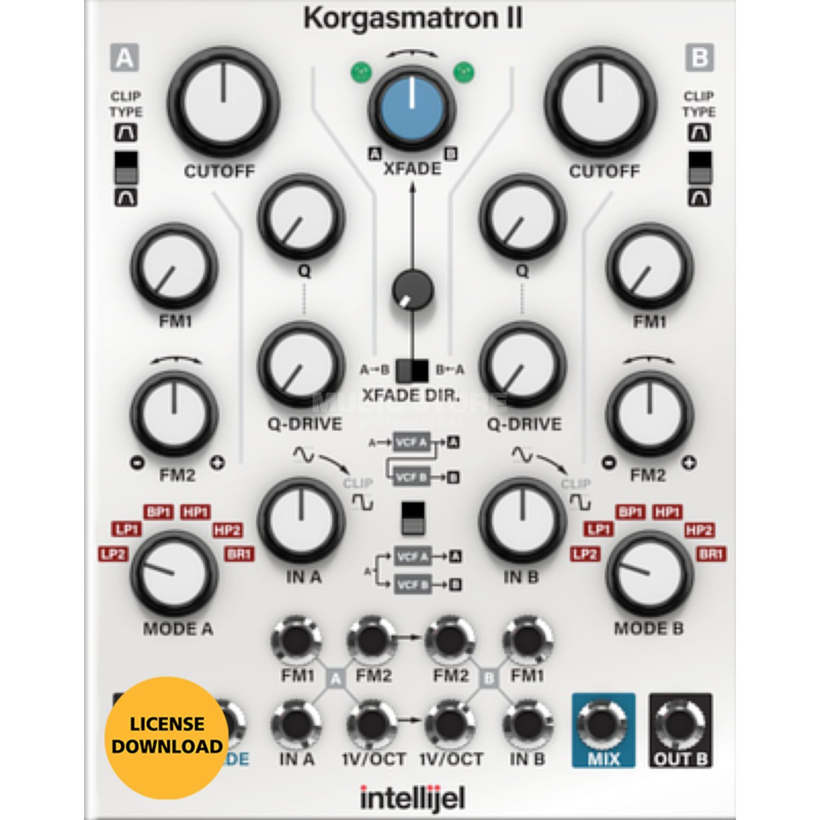 Softube Intellijel Korgasmatron II License Code Produktbillede