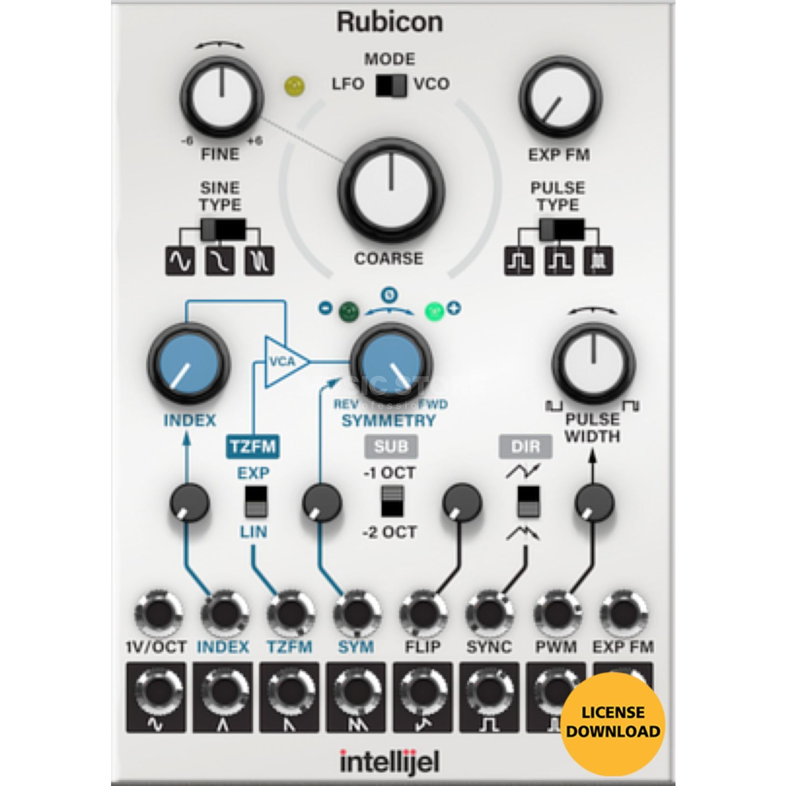 Softube Intellijel Rubicon License Code Produktbillede