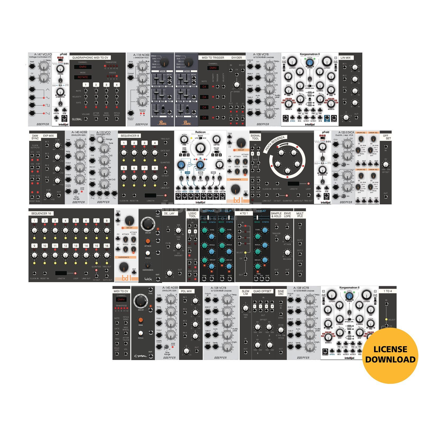 Softube Modular - virtual Eurorack Synthesizer (DOWNLOAD) Produktbild