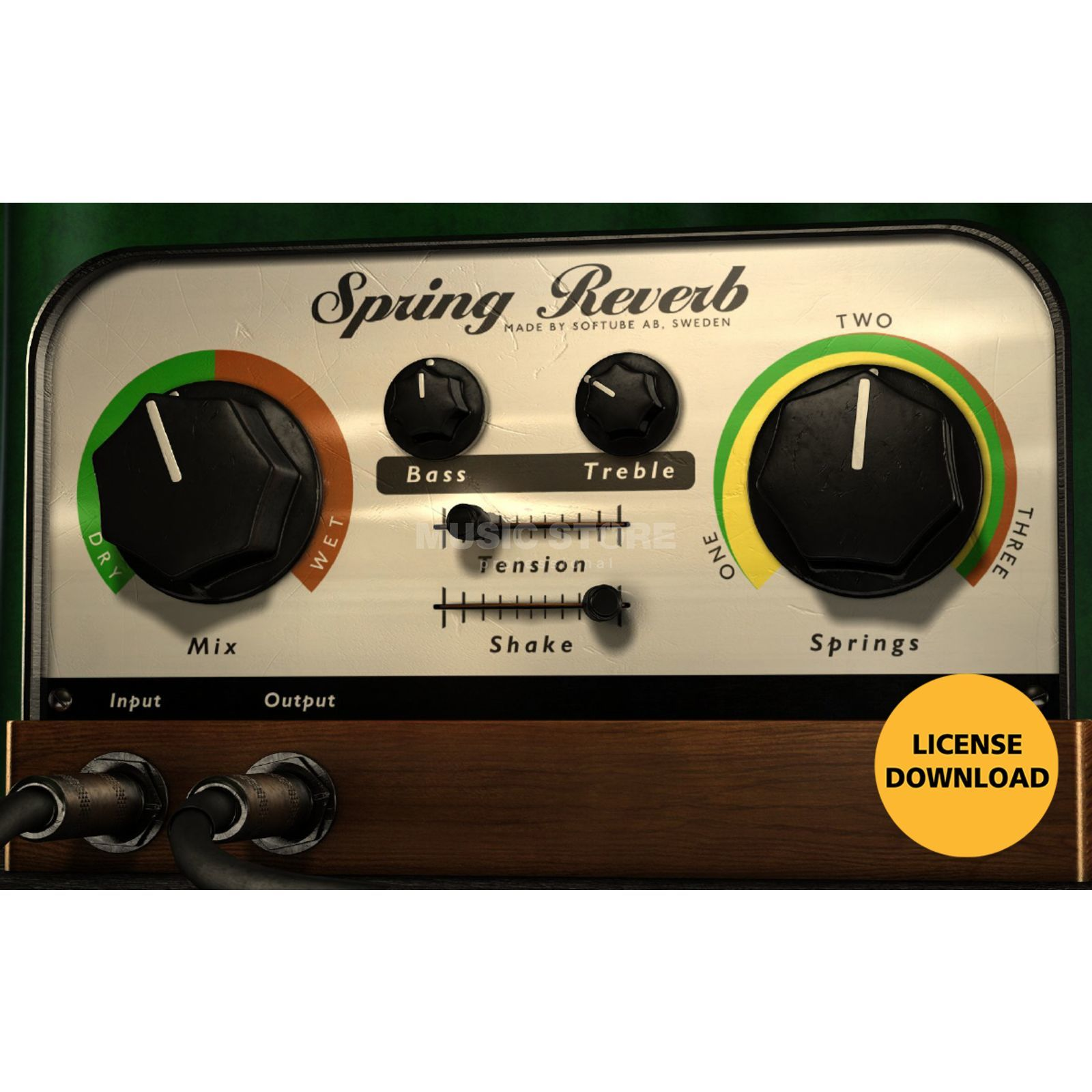 Softube Spring Reverb (DOWNLOAD) Produktbild